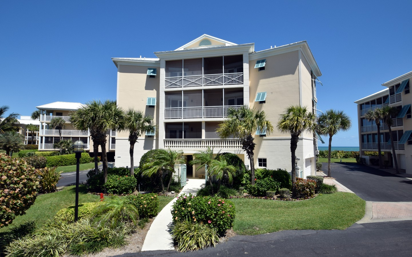 Condominium for Sale at Stunning Oceanfront Condo in Sea Oaks 8824 S Sea Oaks Way#105 Vero Beach, Florida, 32963 United States