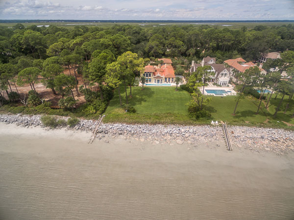 Single Family Home for Sale at Sea Island Oceanfront Estate Sea Island, Georgia 31561 United States