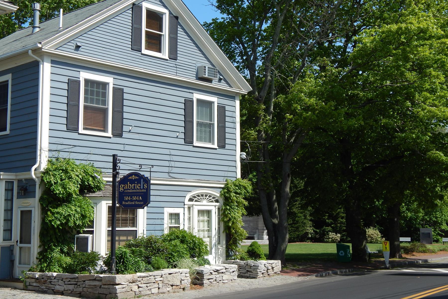 コンドミニアム のために 売買 アット Gabriel's 104 Bradford Street, Unit 8 Provincetown, マサチューセッツ 02657 アメリカ合衆国