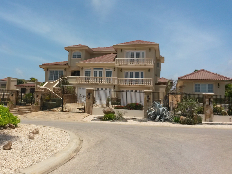 Single Family Home for Sale at Stunning Estate with exquisite interior designs Malmok, Aruba