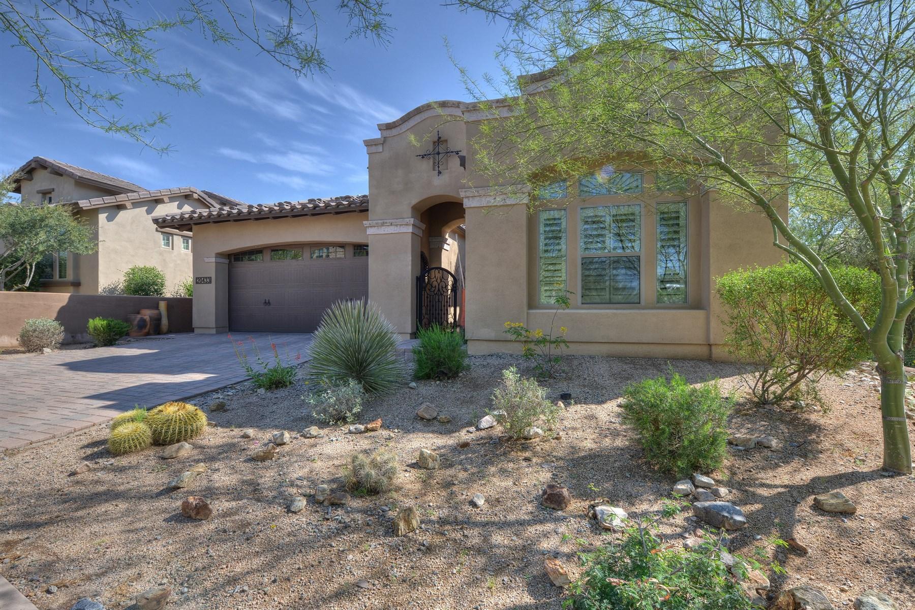 独户住宅 为 销售 在 Luxury Living In The Gated Enclave Of Rosewood In DC Ranch 20433 N 98th Street Scottsdale, 亚利桑那州 85255 美国