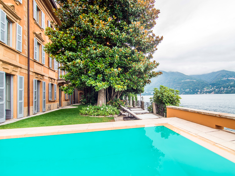 Property For Sale at Splendid 18th century villa overlooking Lake Como