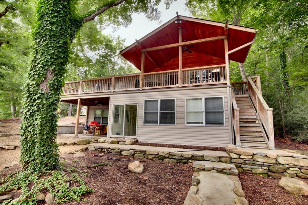 Single Family Home for Sale at Cottage Walk on Bald Mountain Lake 1805 Buffalo Creek Road Lake Lure, North Carolina, 28746 United States