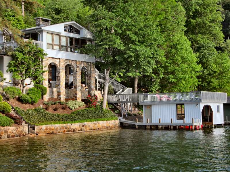 Single Family Home for Sale at Wonderful Lakefront Home 2319 Buffalo Shoals Road Lake Lure, North Carolina, 28746 United States