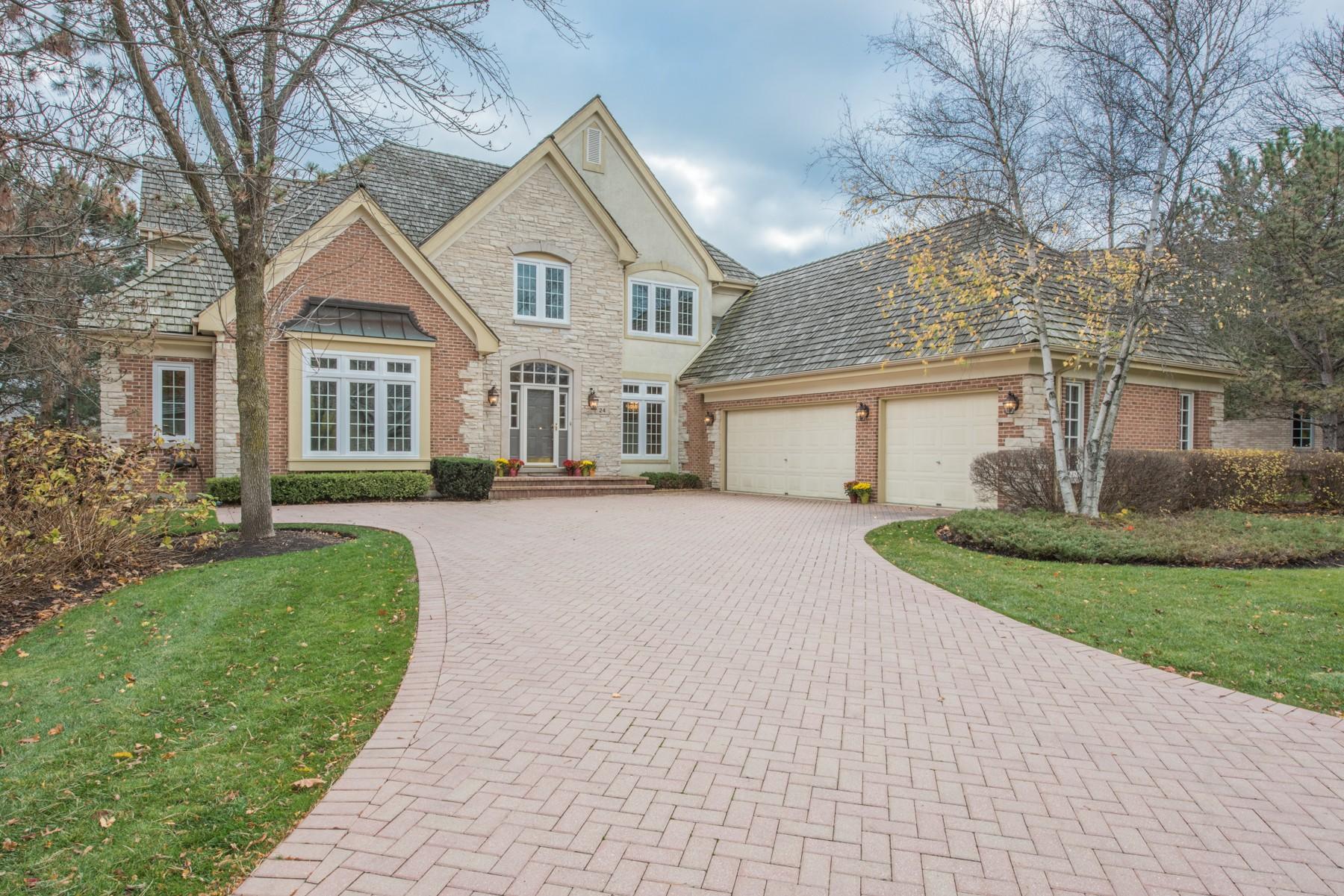 一戸建て のために 売買 アット 24 Lakeside Lane North Barrington, イリノイ, 60010 アメリカ合衆国