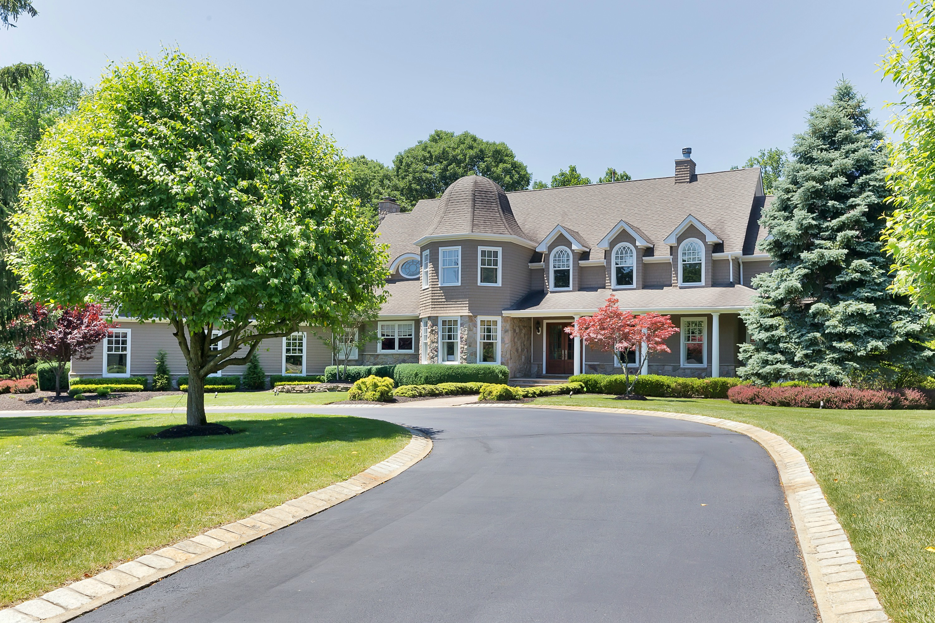 Single Family Home for Sale at Building on the extraordinary 4 Concord Court Colts Neck, New Jersey 07722 United States