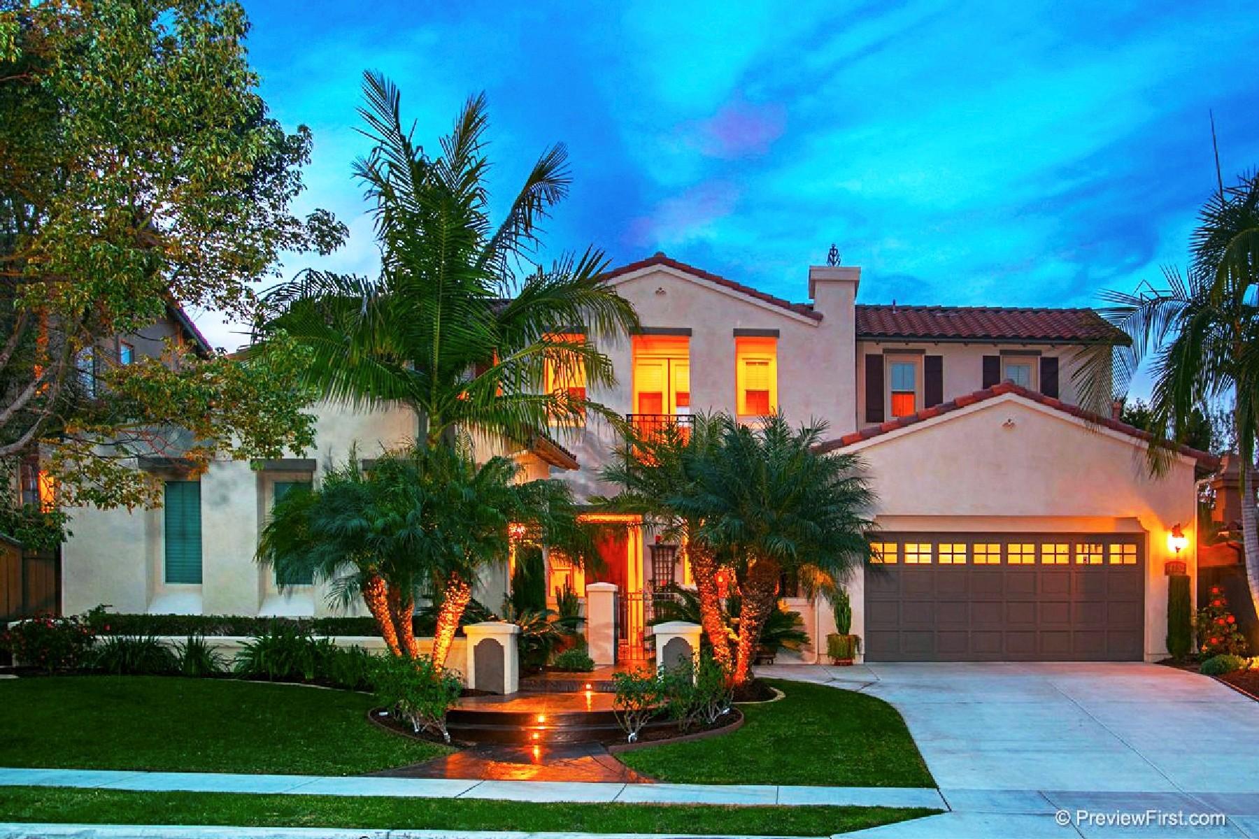 Maison unifamiliale pour l Vente à 14752 Via Mantova San Diego, Californie 92127 États-Unis