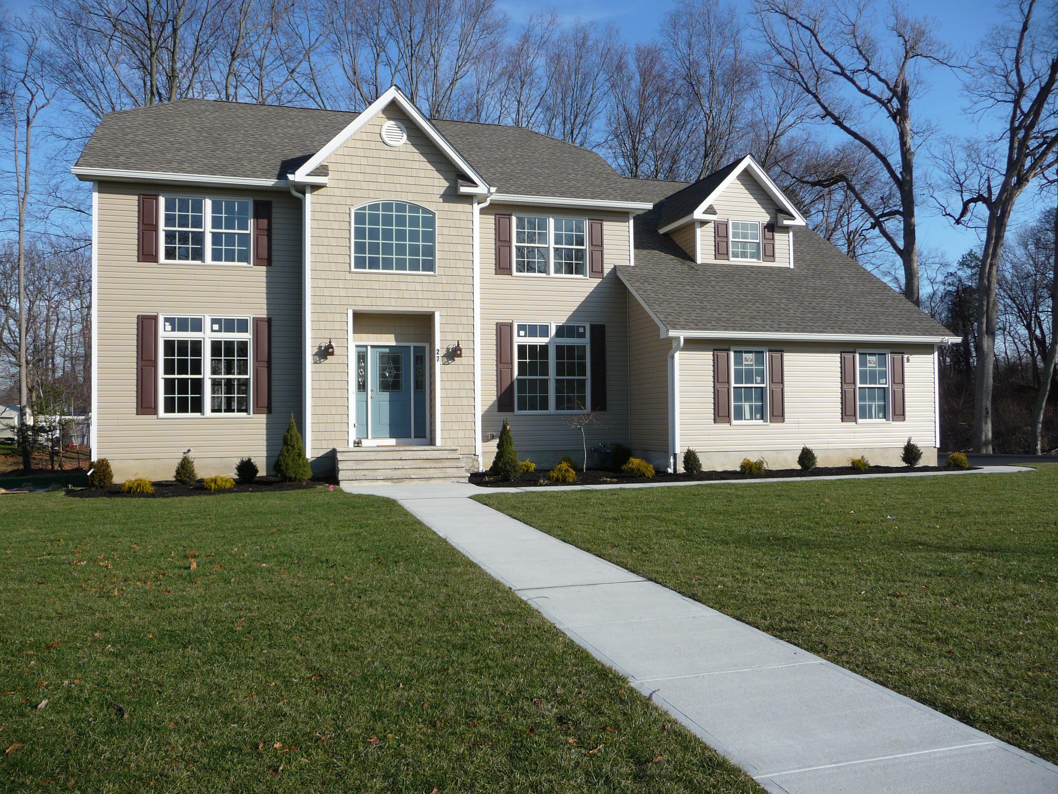 Maison unifamiliale pour l Vente à New Construction 27 Alpine Trl Tinton Falls, New Jersey, 07712 États-Unis