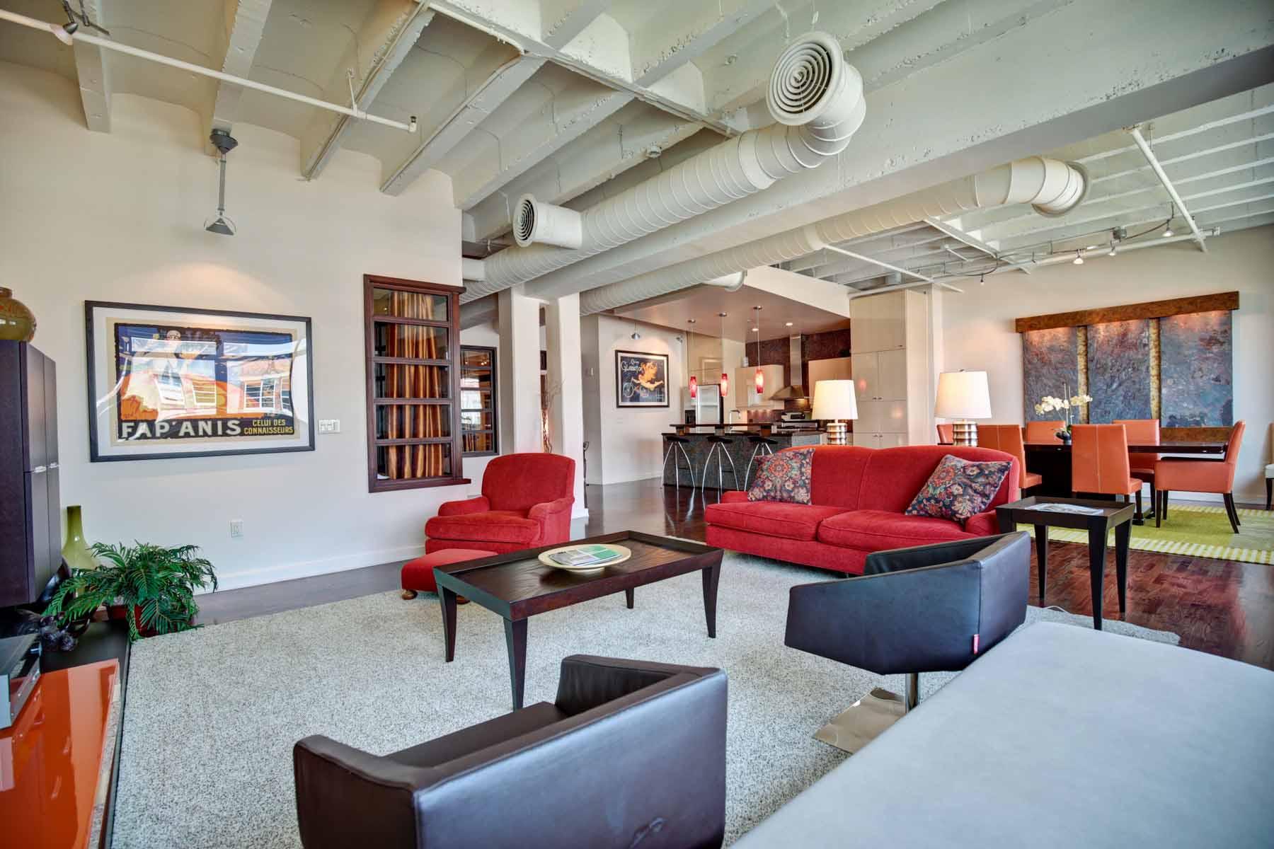 獨棟家庭住宅 為 出售 在 Truly One-of-A-Kind Penthouse Level Home in the Midtown Mile 805 Peachtree Street NE Unit 614 Atlanta, 喬治亞州, 30308 美國