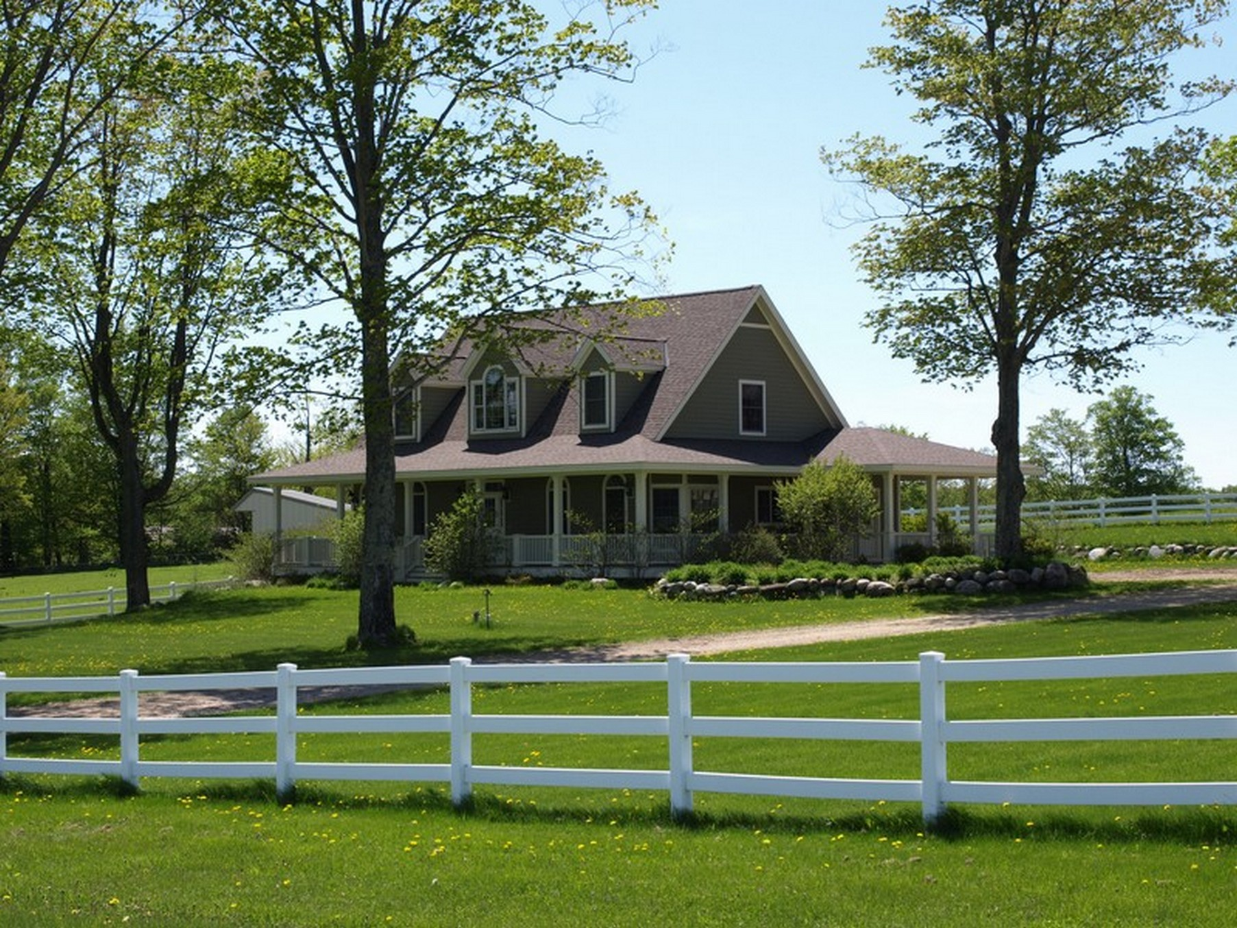 Farm / Ranch / Plantation for Sale at Northern Michigan Equestrian Haven 626 W. Townline Road Harbor Springs, Michigan, 49740 United States