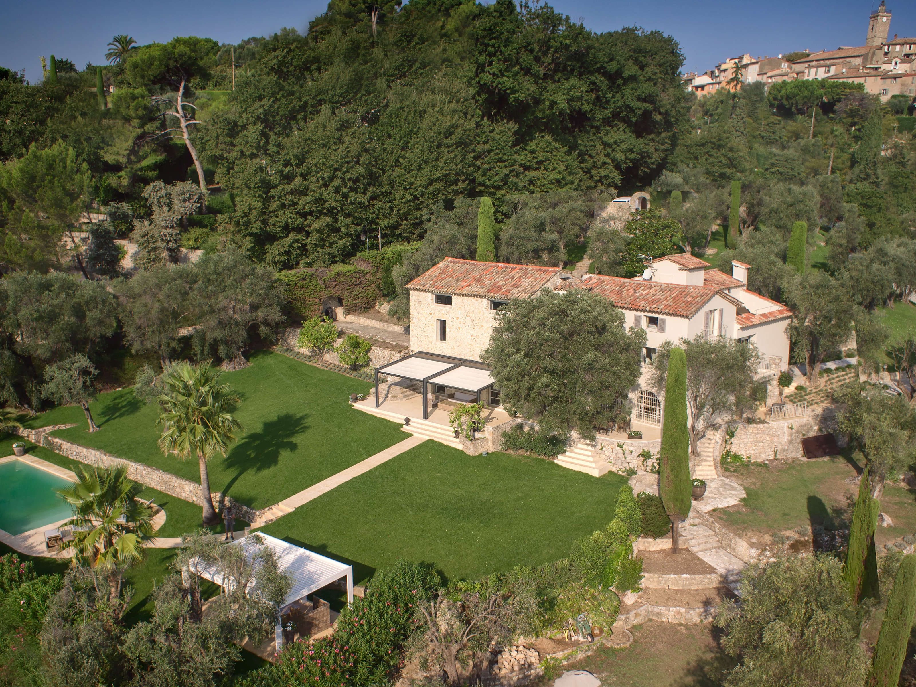 Multi-Family Home for Sale at Superb Provencal Style Property with sea view Mougins, Provence-Alpes-Cote D'Azur 06250 France