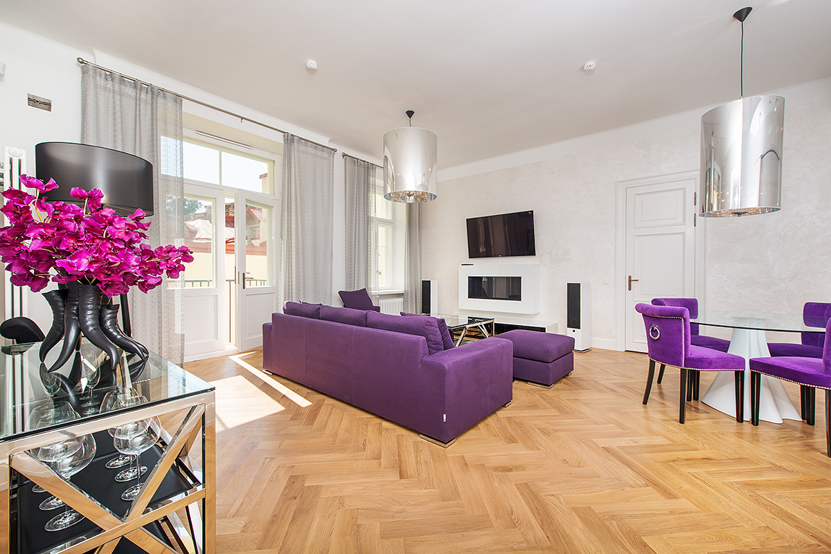 rentals property at Elegant fully-furnished 2-bedroom apartment in the Old town of Tallinn