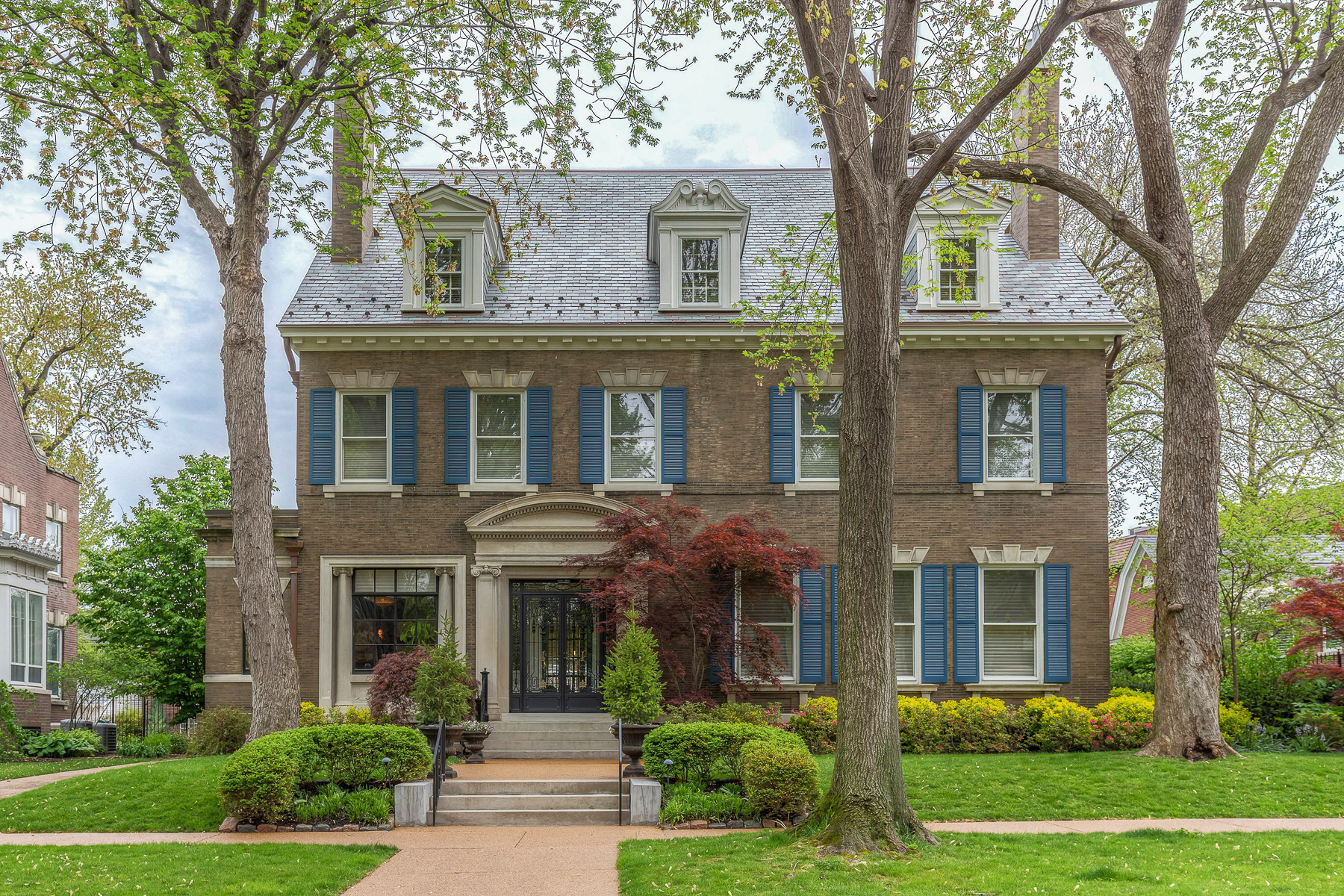 sales property at Georgian inspired historic and elegant home