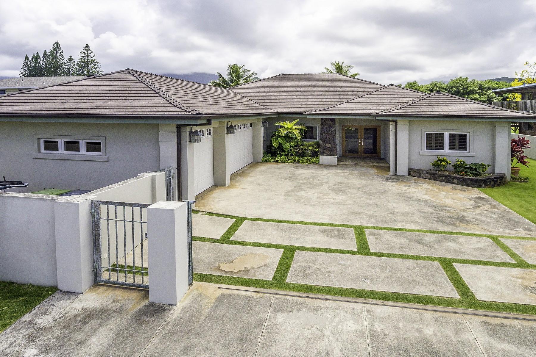 Maison unifamiliale pour l Vente à Island Elegant Home 769 Kahoa Dr. Kailua, Hawaii, 96734 États-Unis