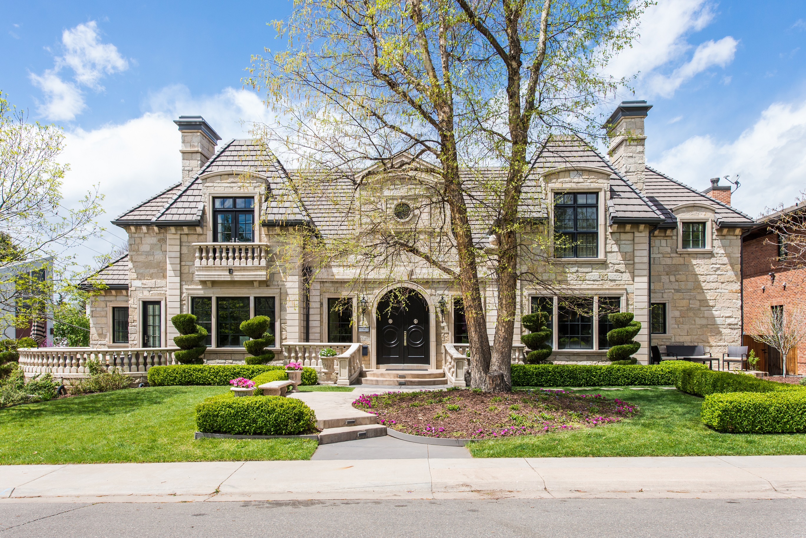 Single Family Home for Sale at AN EXTRAORDINARY FRENCH PROVINCIAL RESIDENCE ON ONE OF HILLTOP'S PREMIER BLOCKS 99 South Bellaire Street Hilltop, Denver, Colorado, 80246 United States