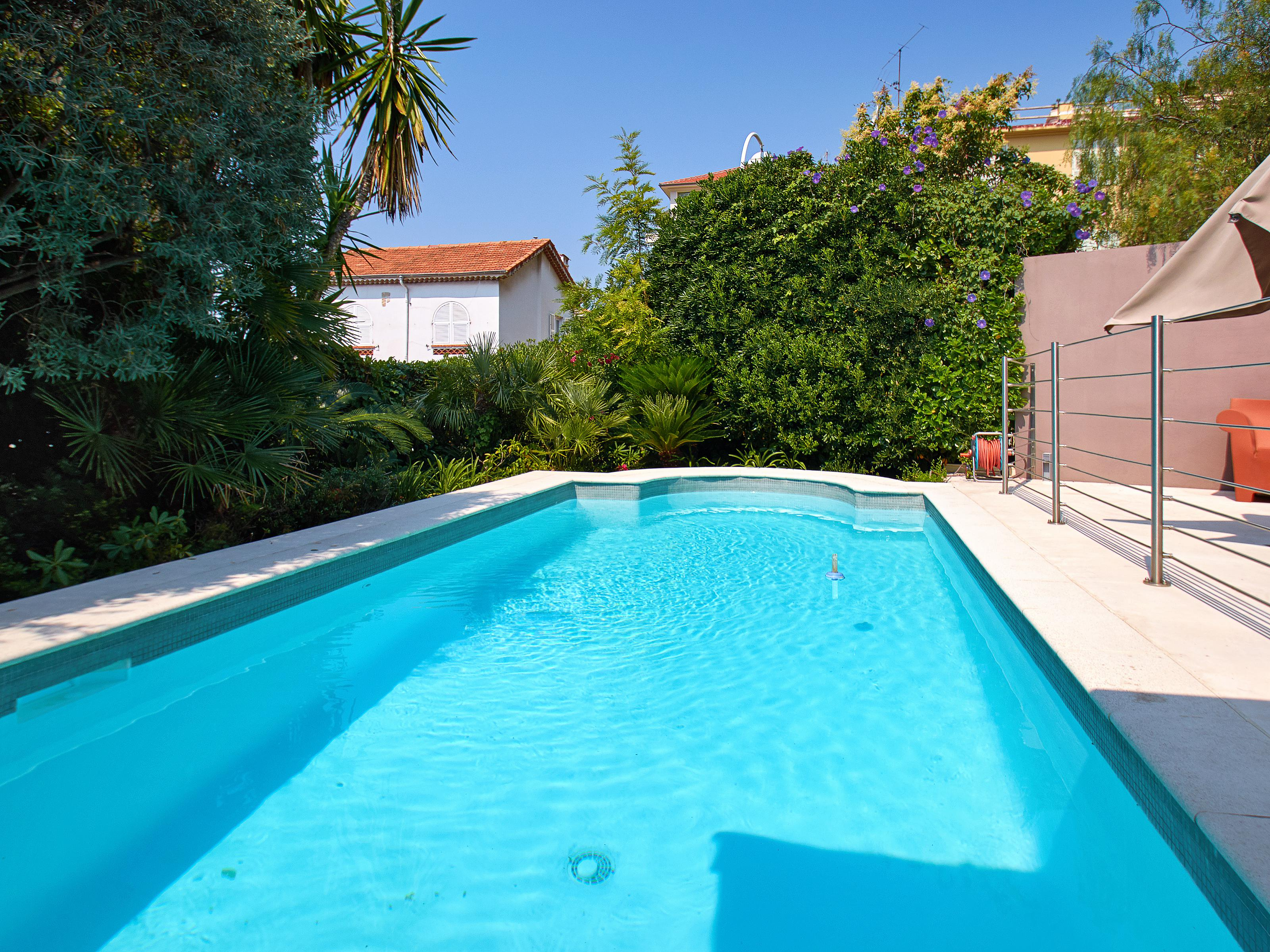 Single Family Home for Sale at Cap de Nice - Beautiful Contemporary villa walking distance to the sea Nice, Provence-Alpes-Cote D'Azur 06300 France