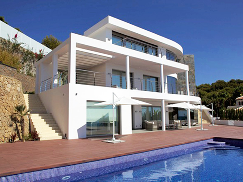 Single Family Home for Sale at Luxury Waterfront Villa with direct Beach access Moraira, Alicante Costa Blanca 03724 Spain