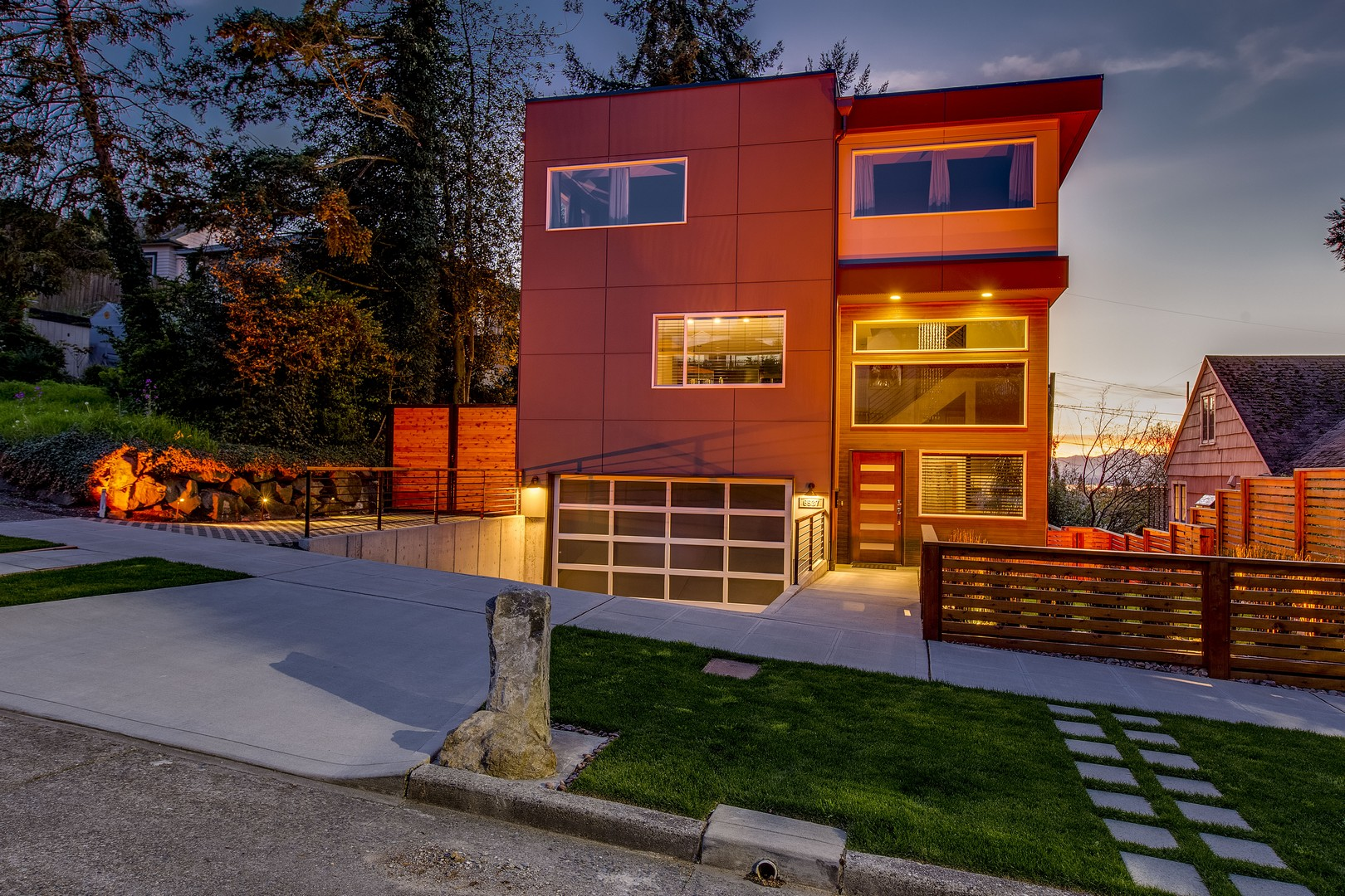 sales property at West Seattle Modern