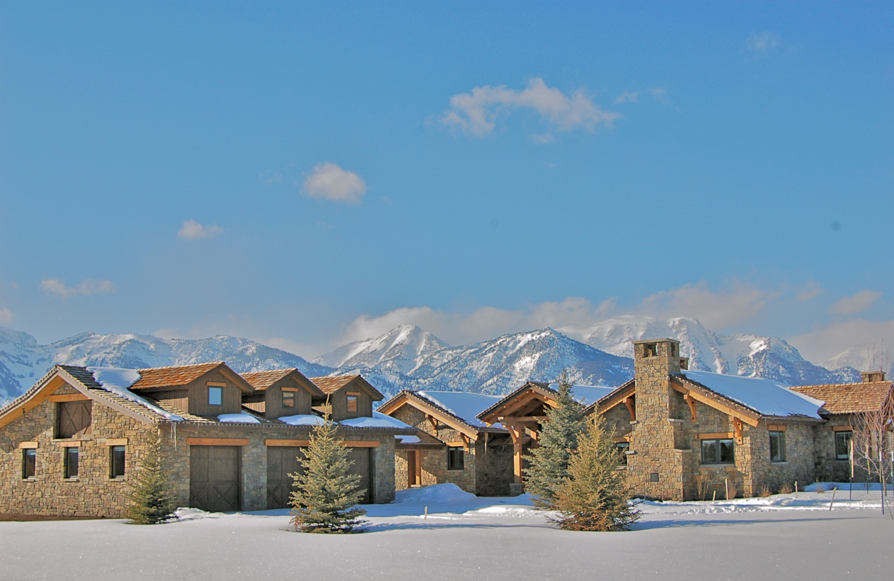 Property For Sale at Timber Frame in the Shadow of the Tetons