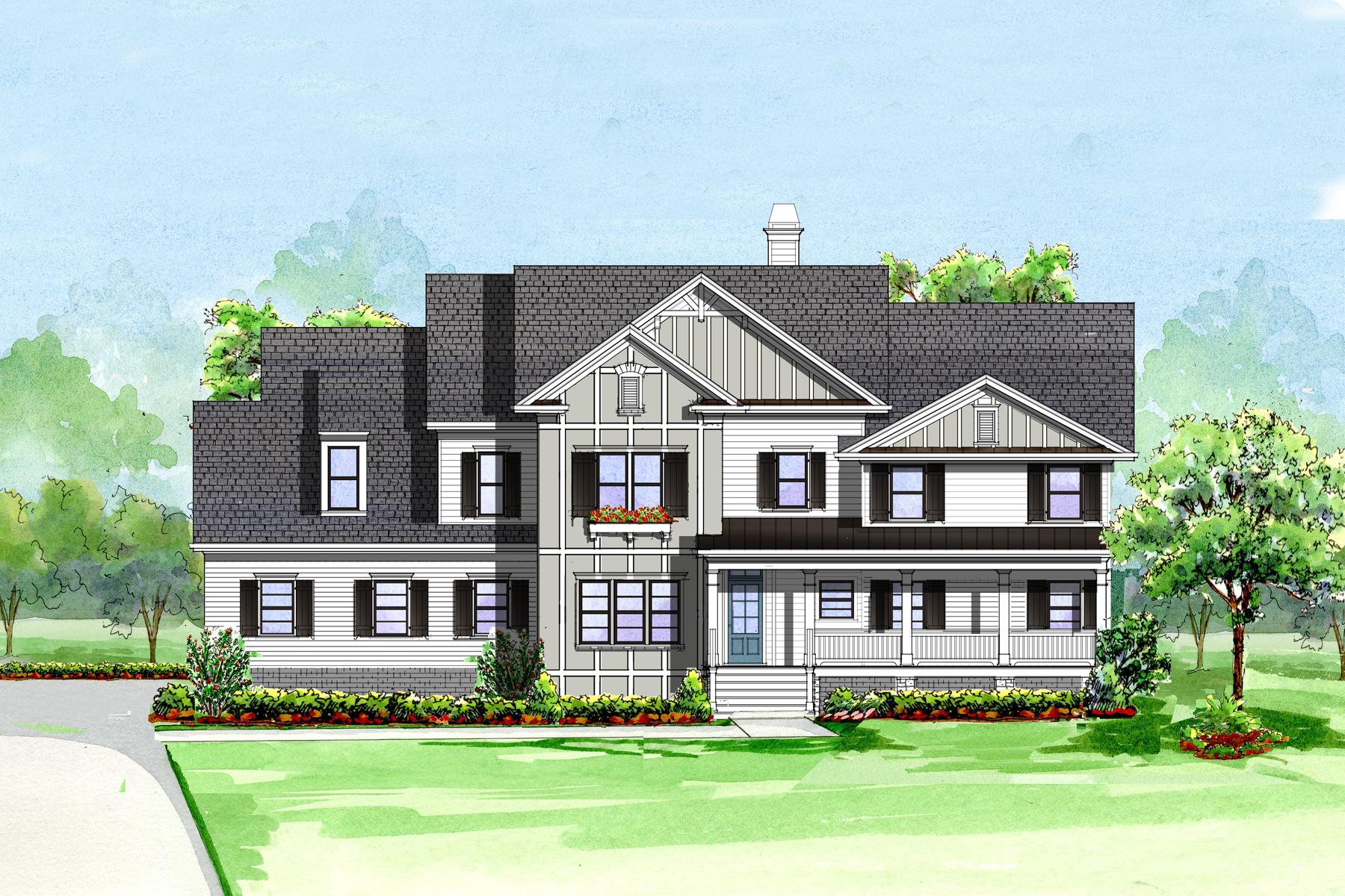Single Family Home for Sale at Beautiful New Construction In Heards Ferry 6510 Bridgewood Valley Road Sandy Springs, Georgia, 30328 United States