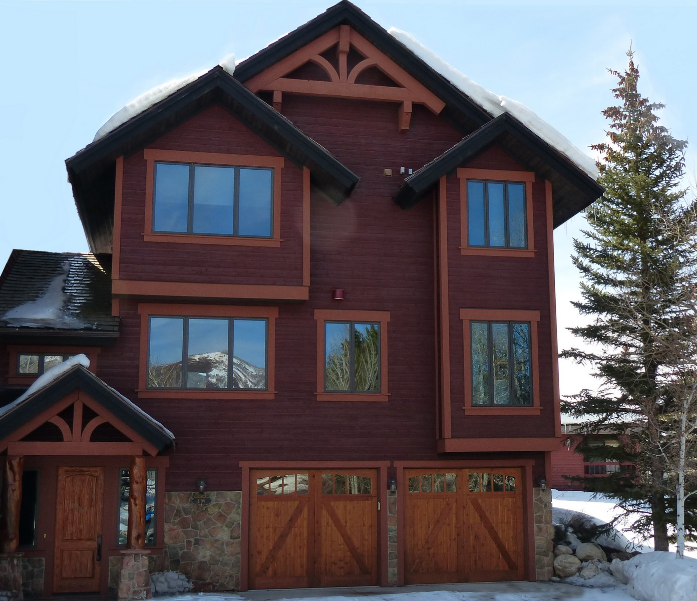 Duplex for Sale at Unique Mountain Duplex 1109 Redwoods Drive Steamboat Springs, Colorado 80487 United States