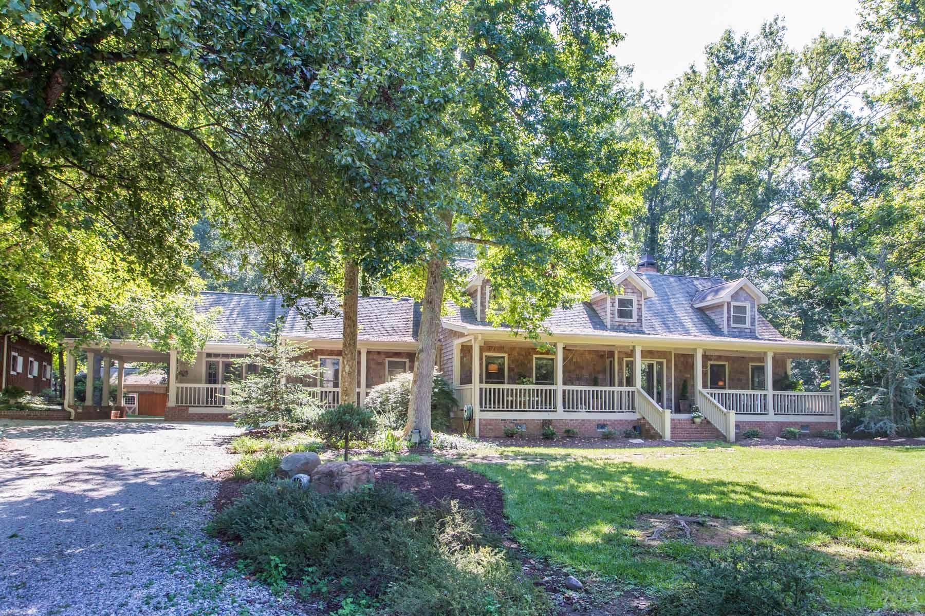 Casa para uma família para Venda às Private and Pristine 7+/- Acre Equestrian Home in Canton 1575 Owens Store Road Canton, Geórgia 30115 Estados Unidos