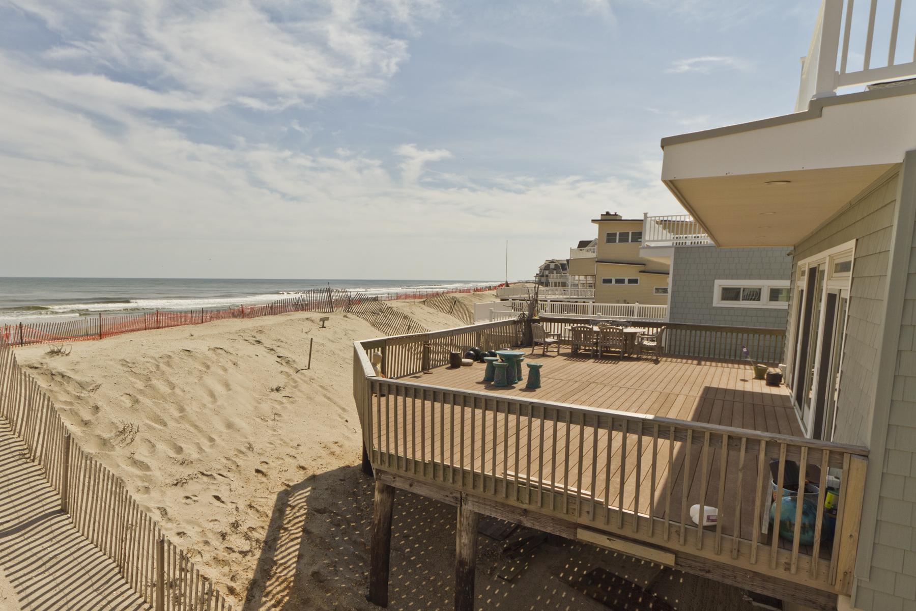 단독 가정 주택 용 매매 에 Newly Renovated Oceanfront 486 Sunset Boulevard Mantoloking, 뉴저지, 08738 미국