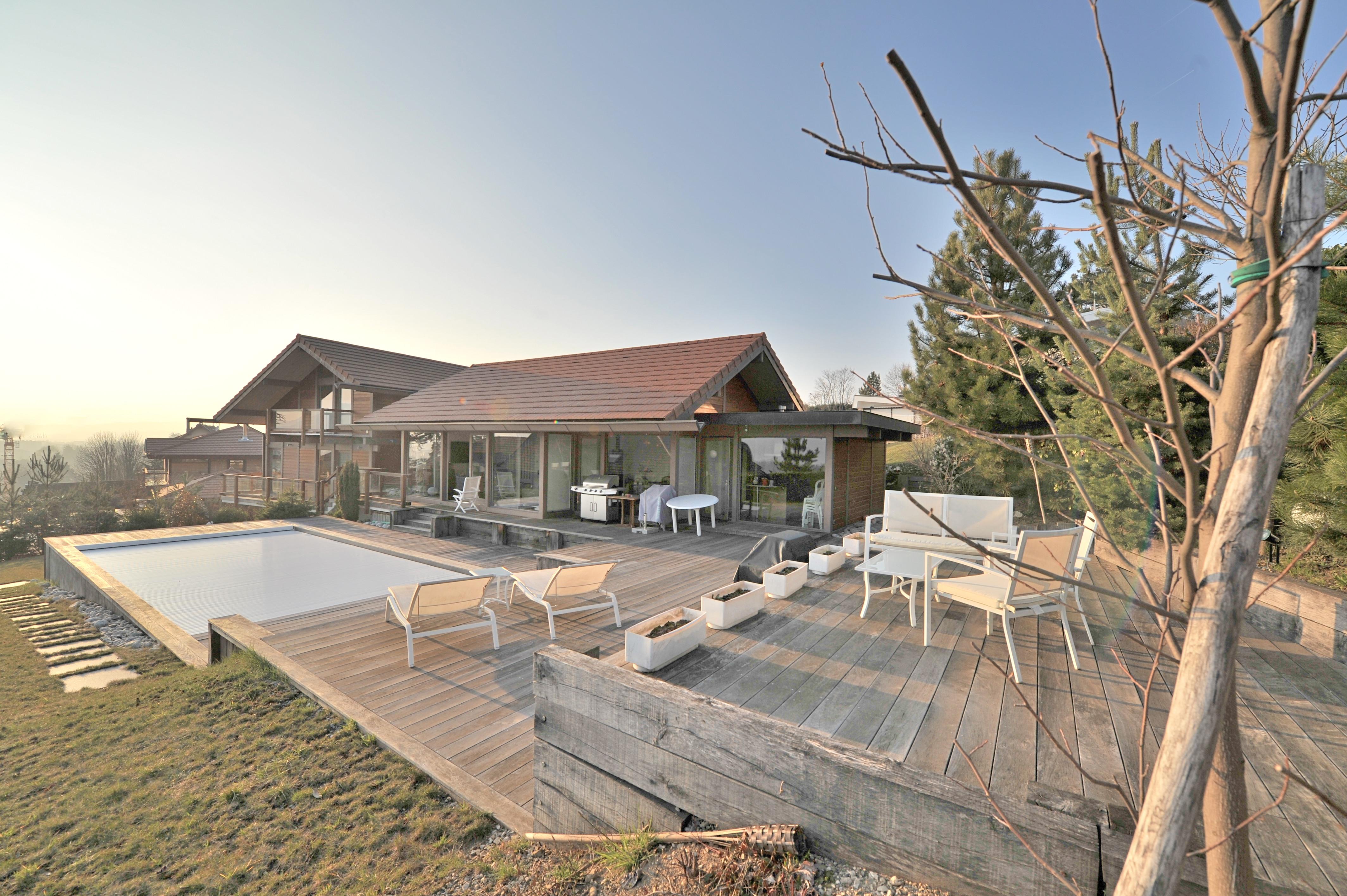 Maison unifamiliale pour l Vente à Villa avec vue lac Other Rhone-Alpes, Rhone-Alpes 74940 France