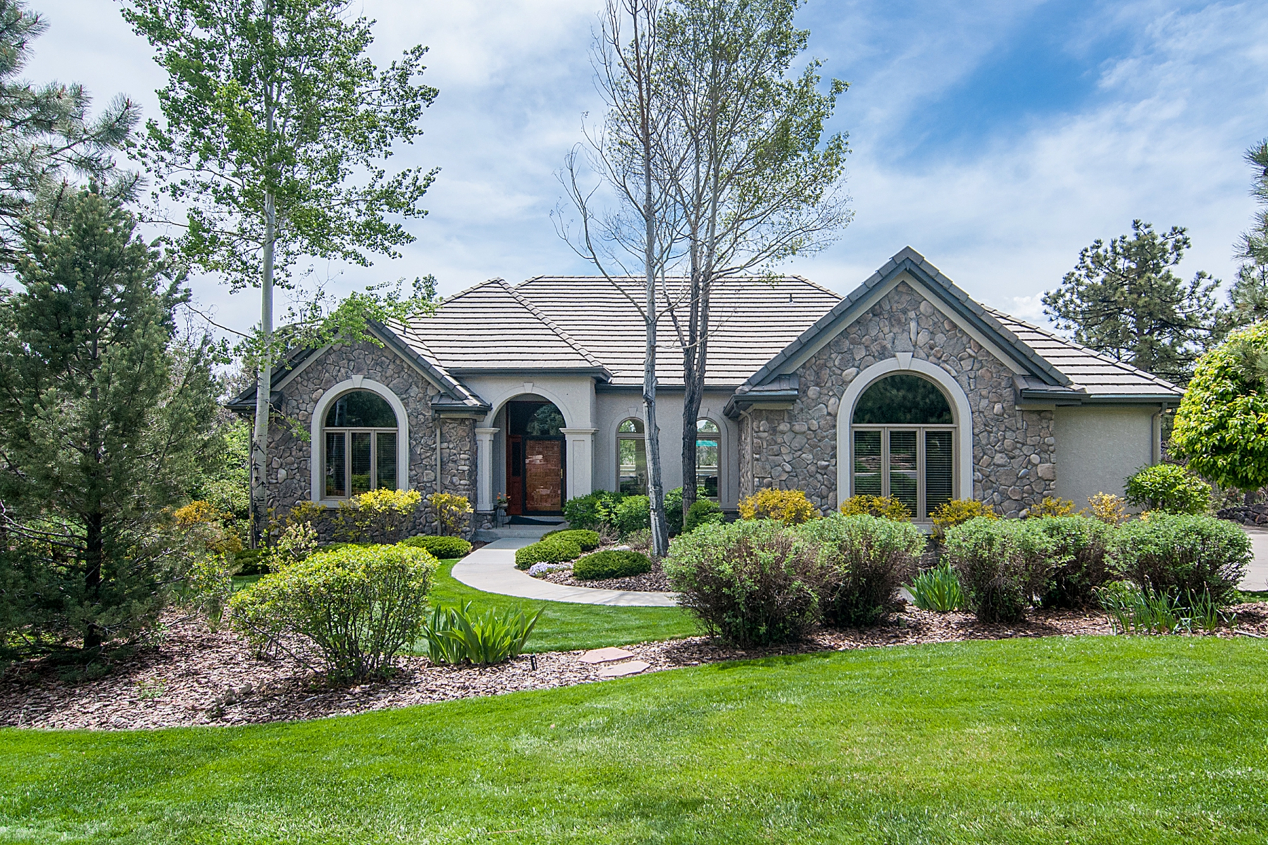 Single Family Home for Sale at 850 Swandyke Dr Castle Pines Village, Castle Rock, Colorado 80108 United States