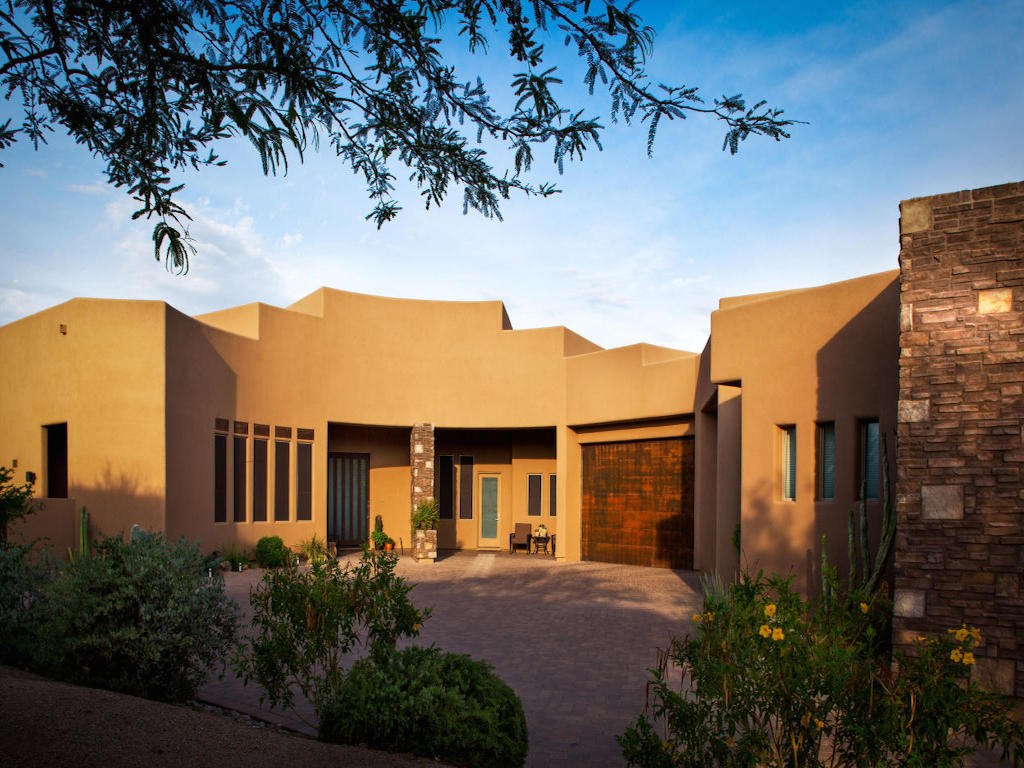 Single Family Home for Sale at Splendid Southwestern Contemporary 8227 E Granite Pass RD Scottsdale, Arizona 85266 United States