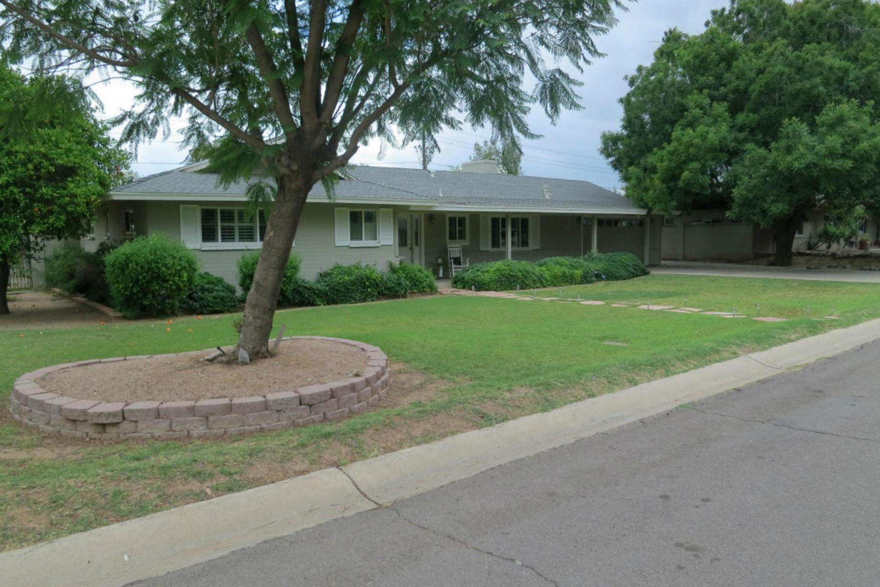 Tek Ailelik Ev için Satış at Hidden, green oais in the heart of Scottsdale 7401 E BONITA DR Scottsdale, Arizona 85250 Amerika Birleşik Devletleri