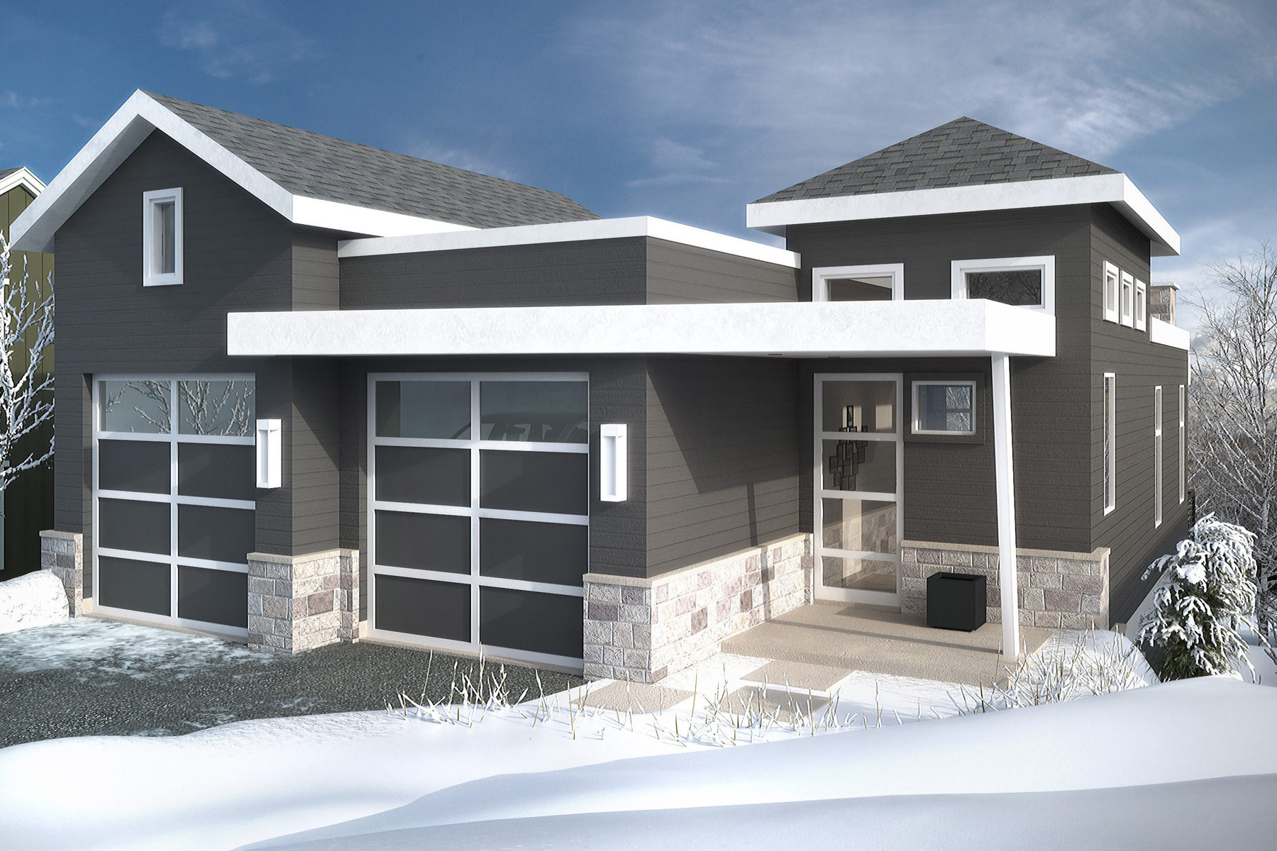 Maison unifamiliale pour l Vente à New Custom Home in Old Town Park City 950 Empire Ave Park City, Utah, 84060 États-Unis