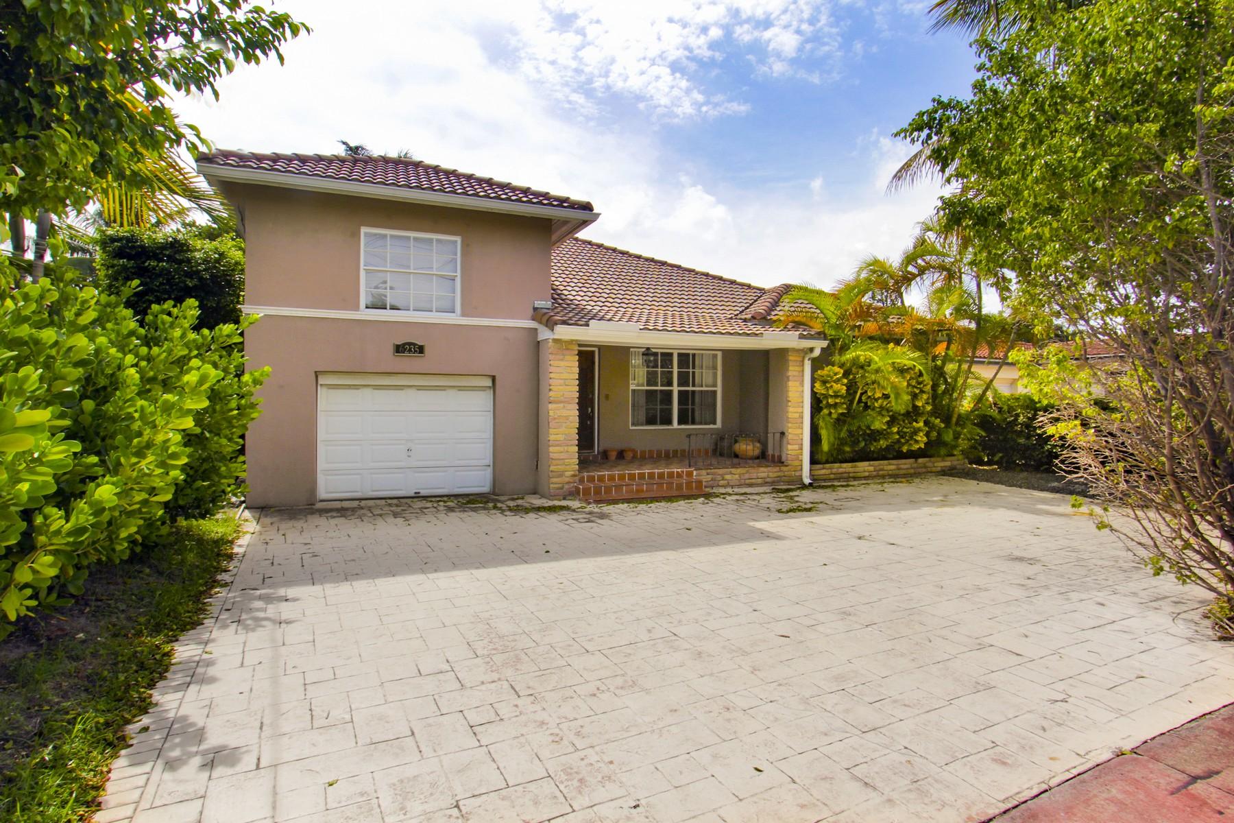 Maison unifamiliale pour l Vente à 6235 Alton Rd Miami Beach, Florida 33139 États-Unis