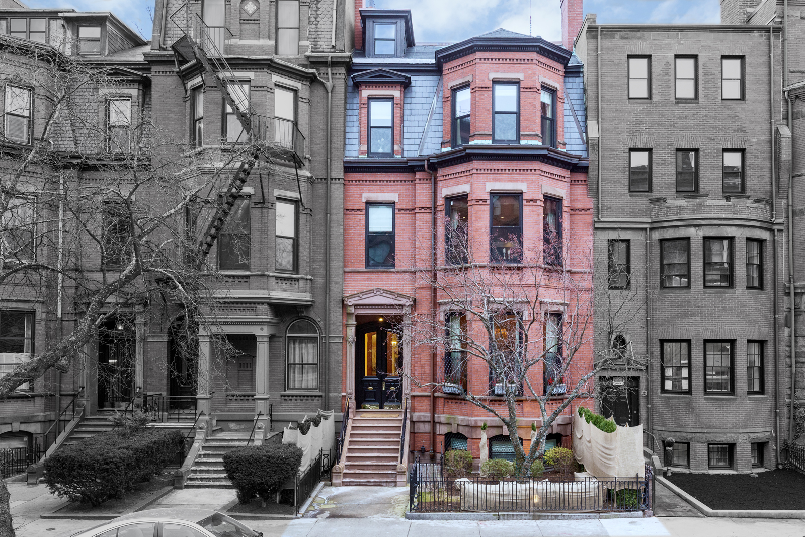 Multi-Family Home for Sale at Exquisite Townhouse With Five Units 365 Beacon Street Back Bay, Boston, Massachusetts 02116 United States