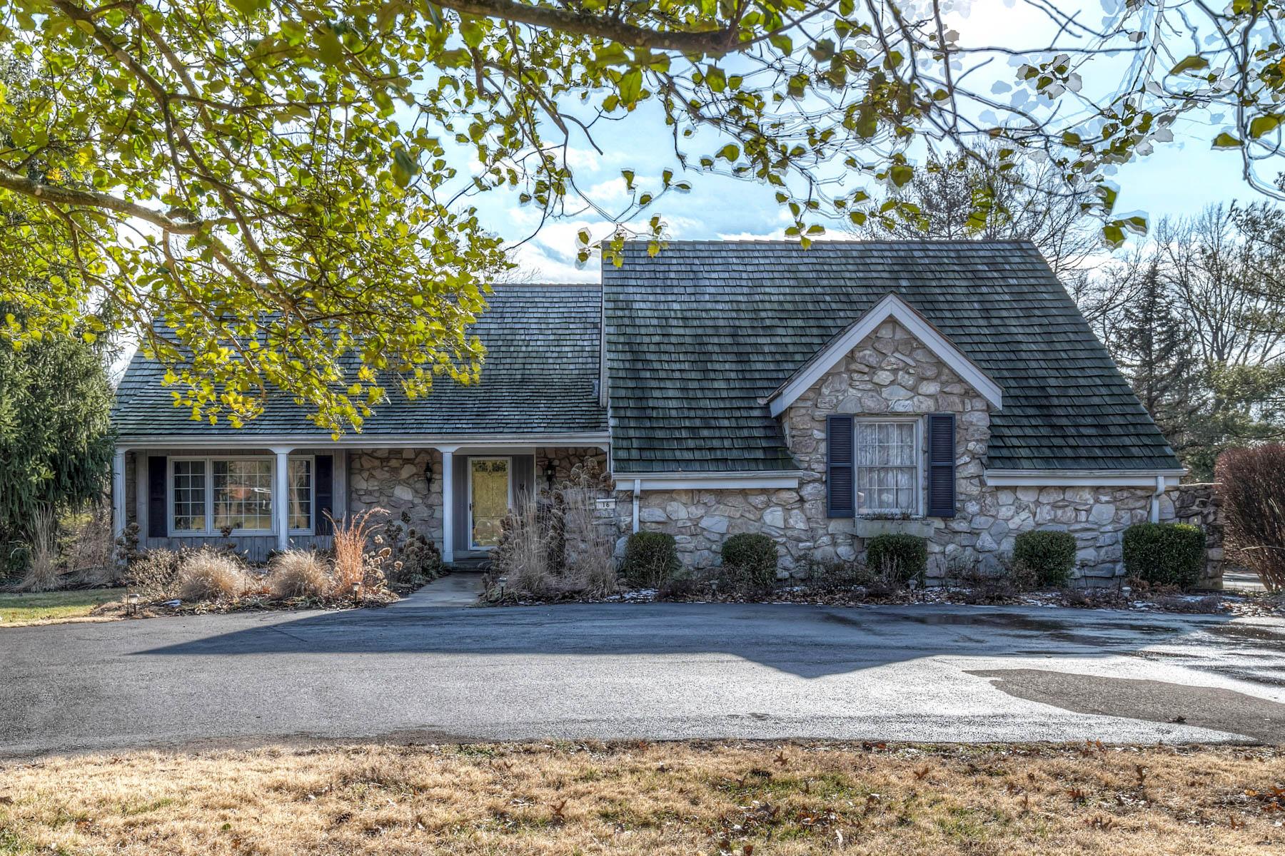 Maison unifamiliale pour l Vente à Roan Lane 16 Roan Lane Ladue, Missouri 63124 États-Unis