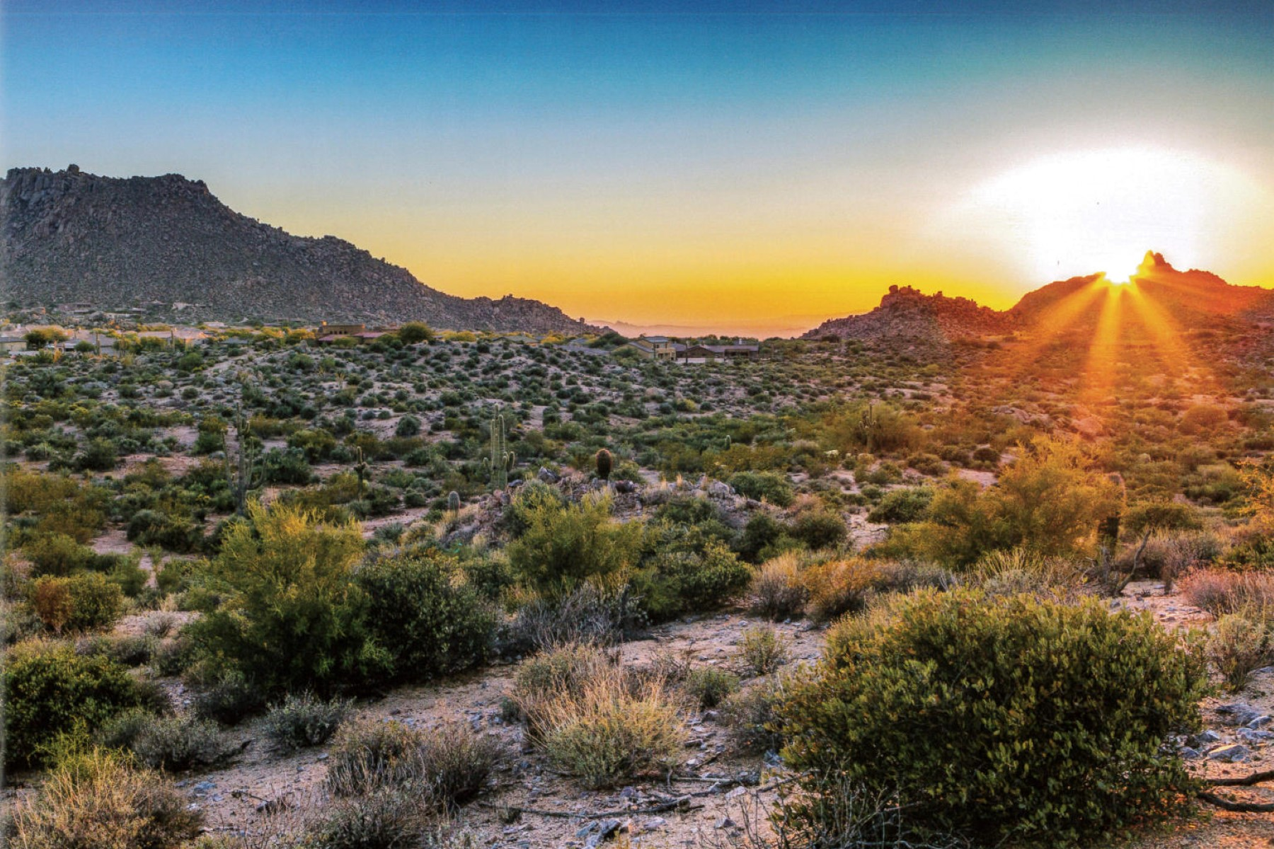 Property For Sale at Extreme Privacy & Gorgeous Views on 10 Acres in North Scottsdale