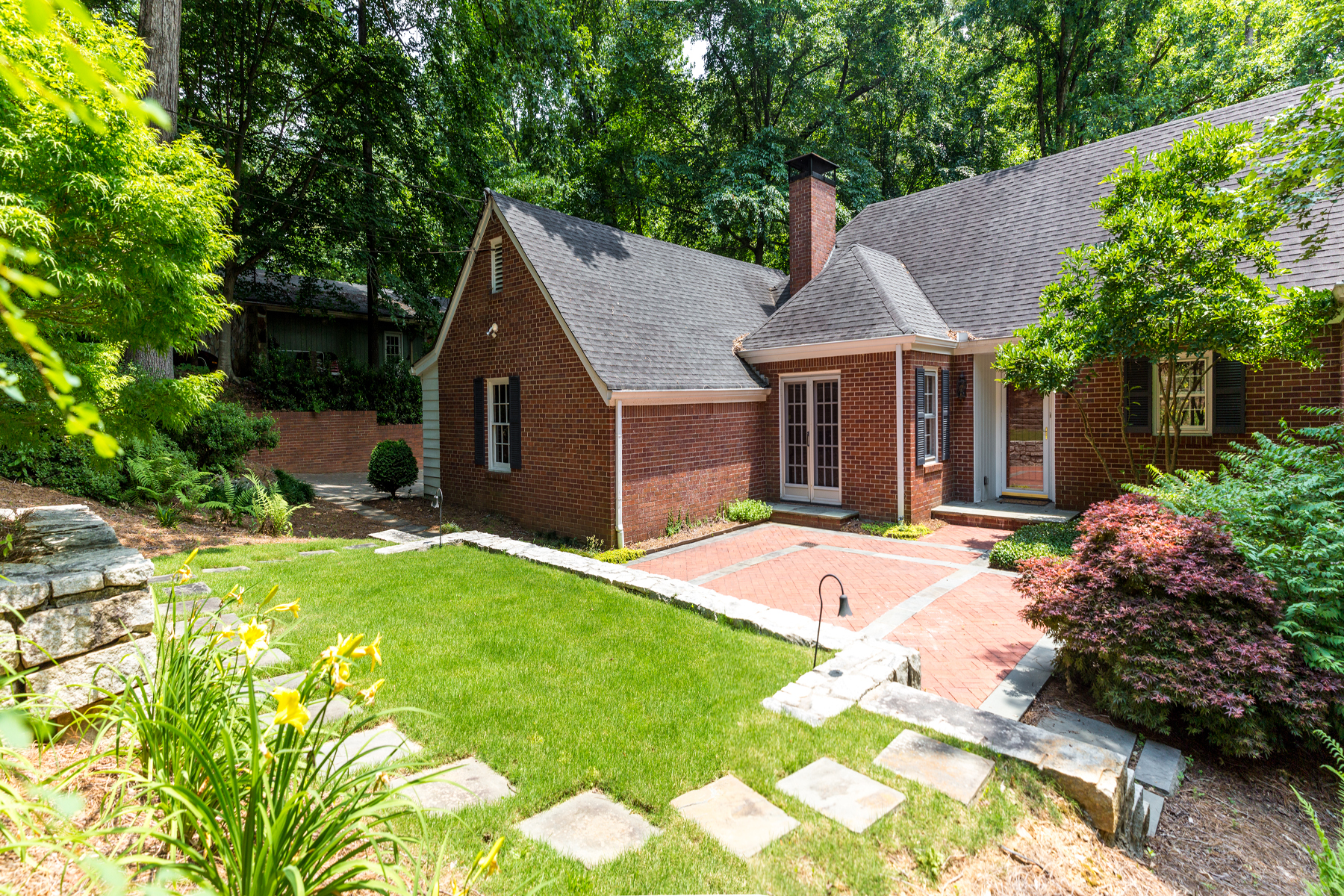 Single Family Home for Sale at Amazing Value For Space In Brick Ranch On Finished Basement 1339 Paces Forest Drive NW Atlanta, Georgia, 30327 United States