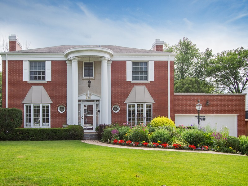 Property For Sale at Gorgeous Red Brick Colonial