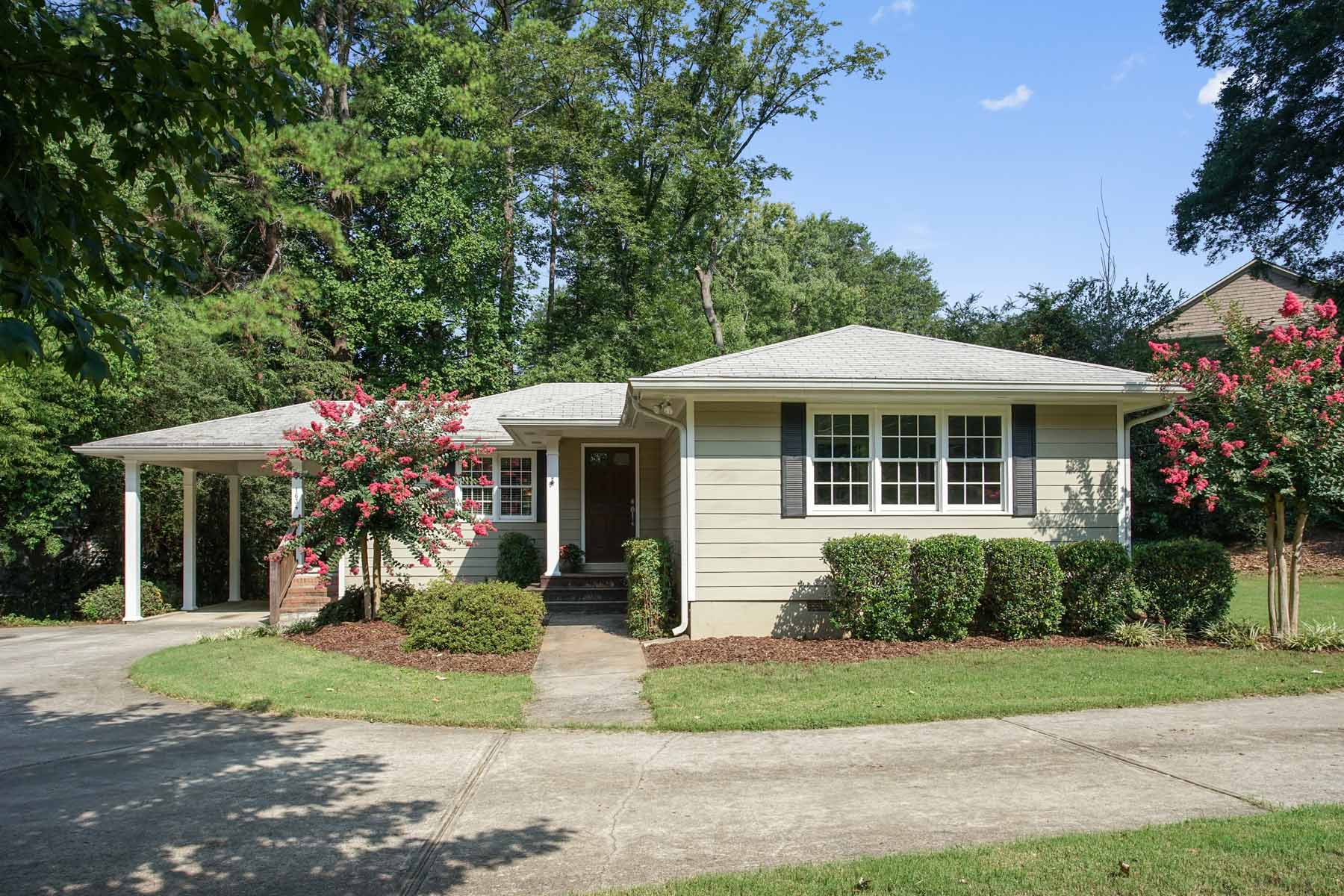 一戸建て のために 売買 アット In the Heart of Ashford Park 1634 Dresden Drive NE Ashford Park, Atlanta, ジョージア, 30319 アメリカ合衆国
