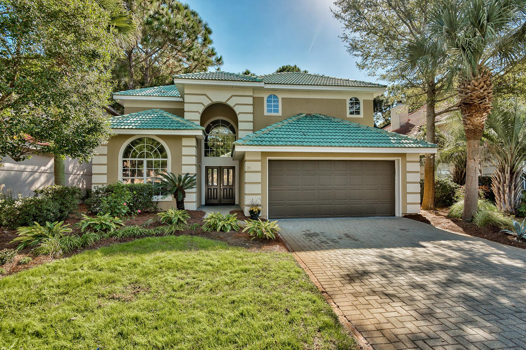 Maison unifamiliale pour l Vente à NEWLY REMODELED GOLF COURSE HOME 26 Indigo Loop Miramar Beach, Florida, 32550 États-Unis