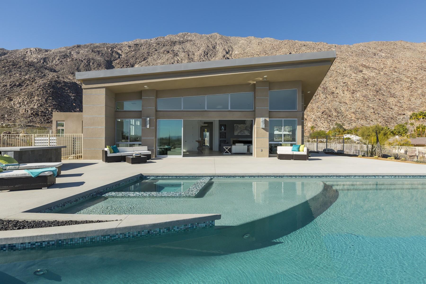 獨棟家庭住宅 為 出售 在 771 South La Mirada Road Palm Springs, 加利福尼亞州, 92264 美國