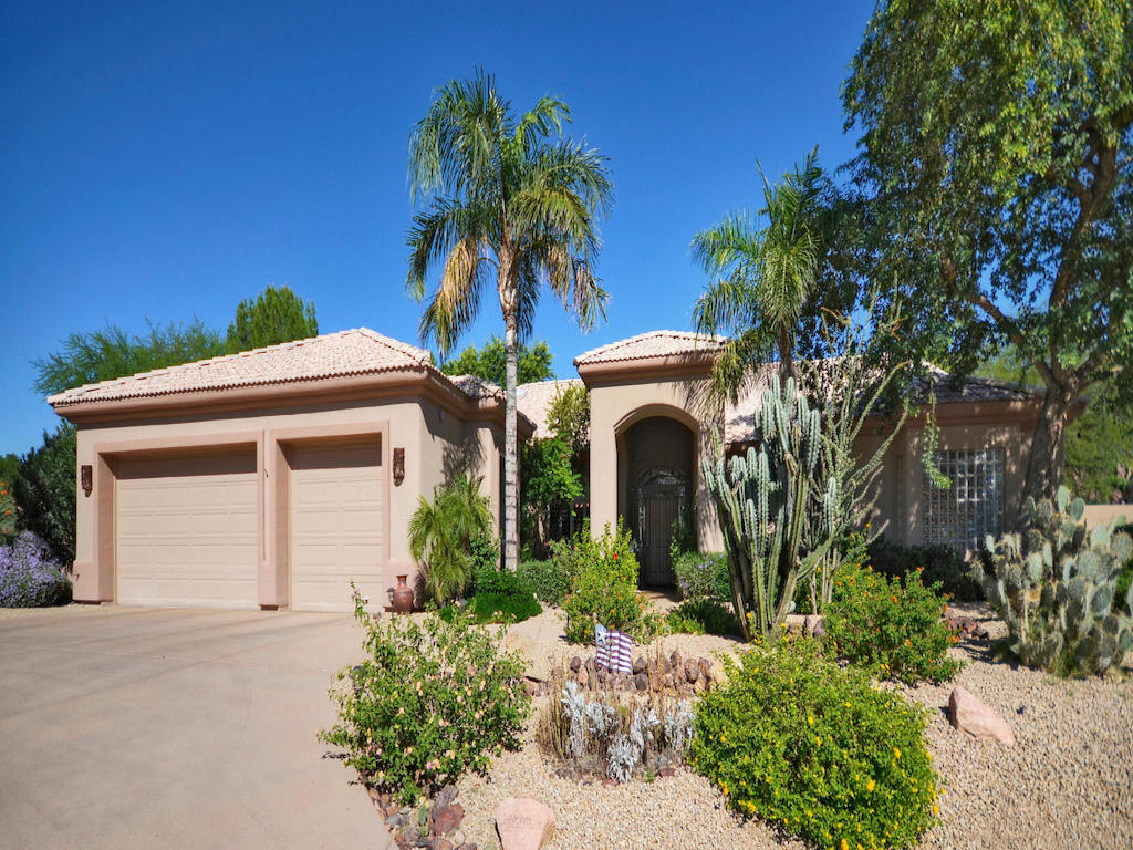 Single Family Home for Sale at Stunning Spanish Style Home 13458 N 87TH ST Scottsdale, Arizona 85260 United States