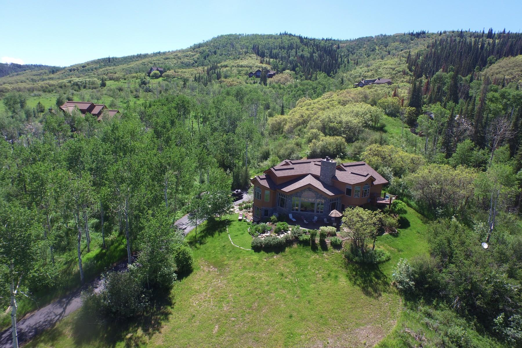 Einfamilienhaus für Verkauf beim Top of Dakota Ridge 35985 Agate Creek Road Steamboat Springs, Colorado 80487 Vereinigte Staaten