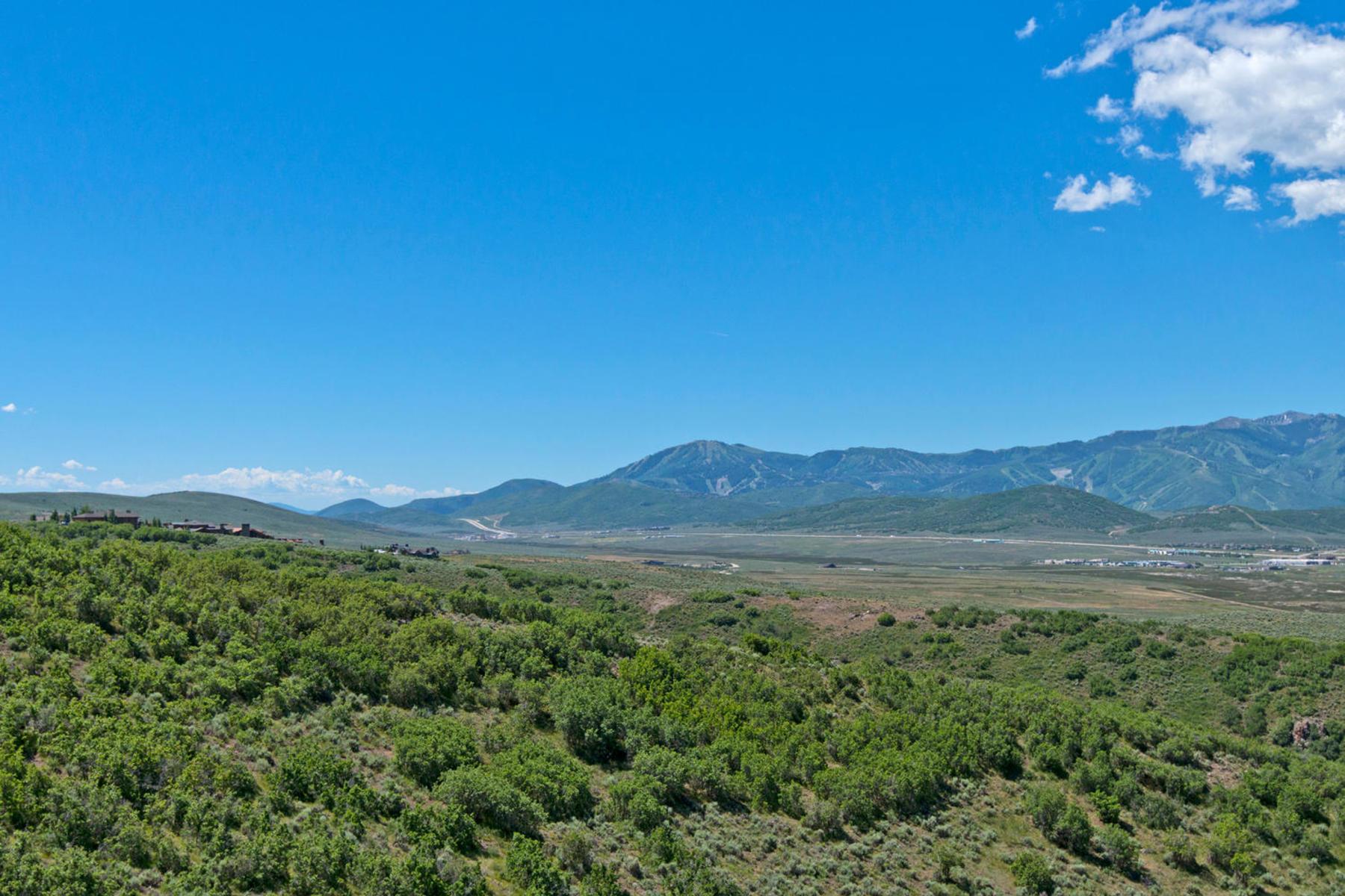 Земля для того Продажа на Amazing Promontory Lot Backing to Open Space 2380 Canyon Gate Rd Lot 78 Park City, Юта, 84098 Соединенные Штаты