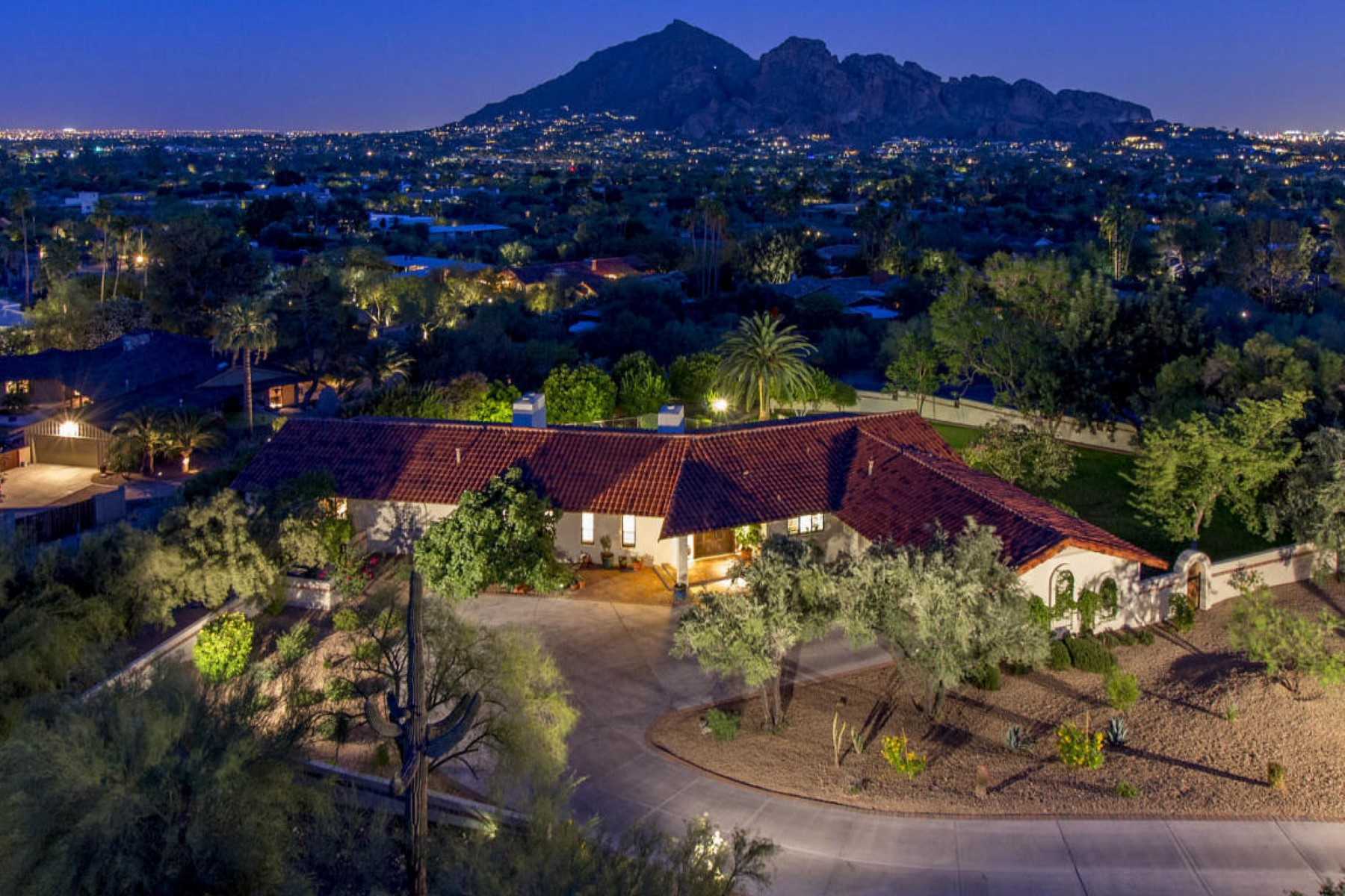 sales property at Beautifully remodeled home with spectacular city light and mountain views