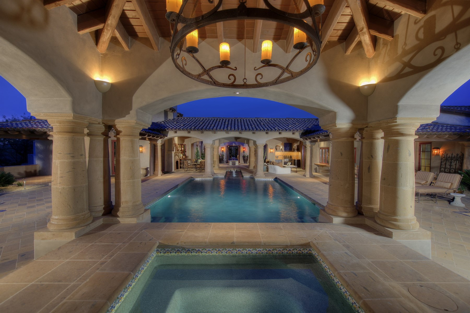 sales property at Spanish inspired estate located in Whisper Rock