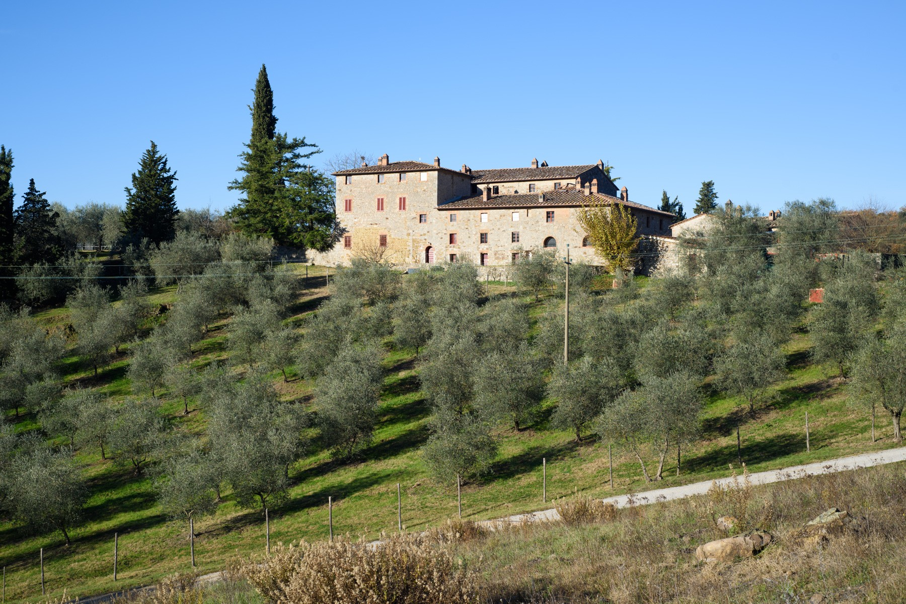 Additional photo for property listing at Unique property in the heart of Chianti Le Pici Castelnuovo Berardenga, Siena 53019 Italie
