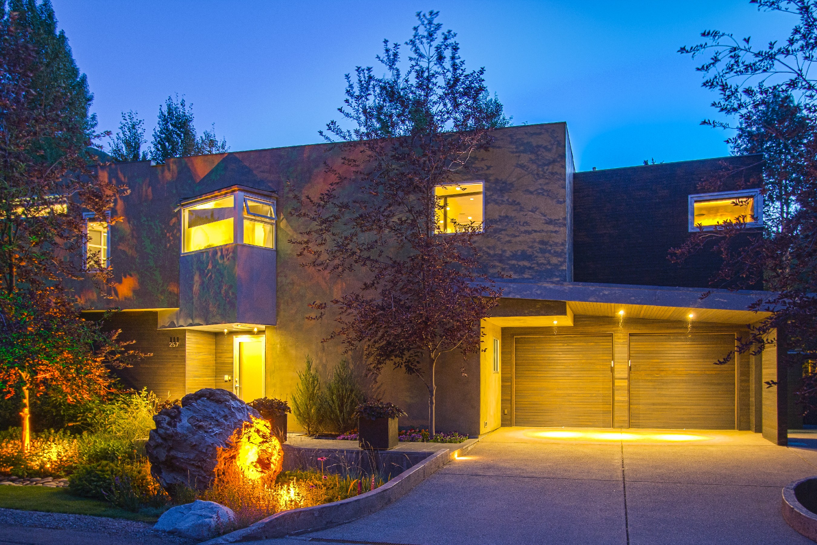 Single Family Home for Sale at Spectacular Downtown Aspen Contemporary Home 257 Park Avenue Aspen, Colorado, 81611 United States