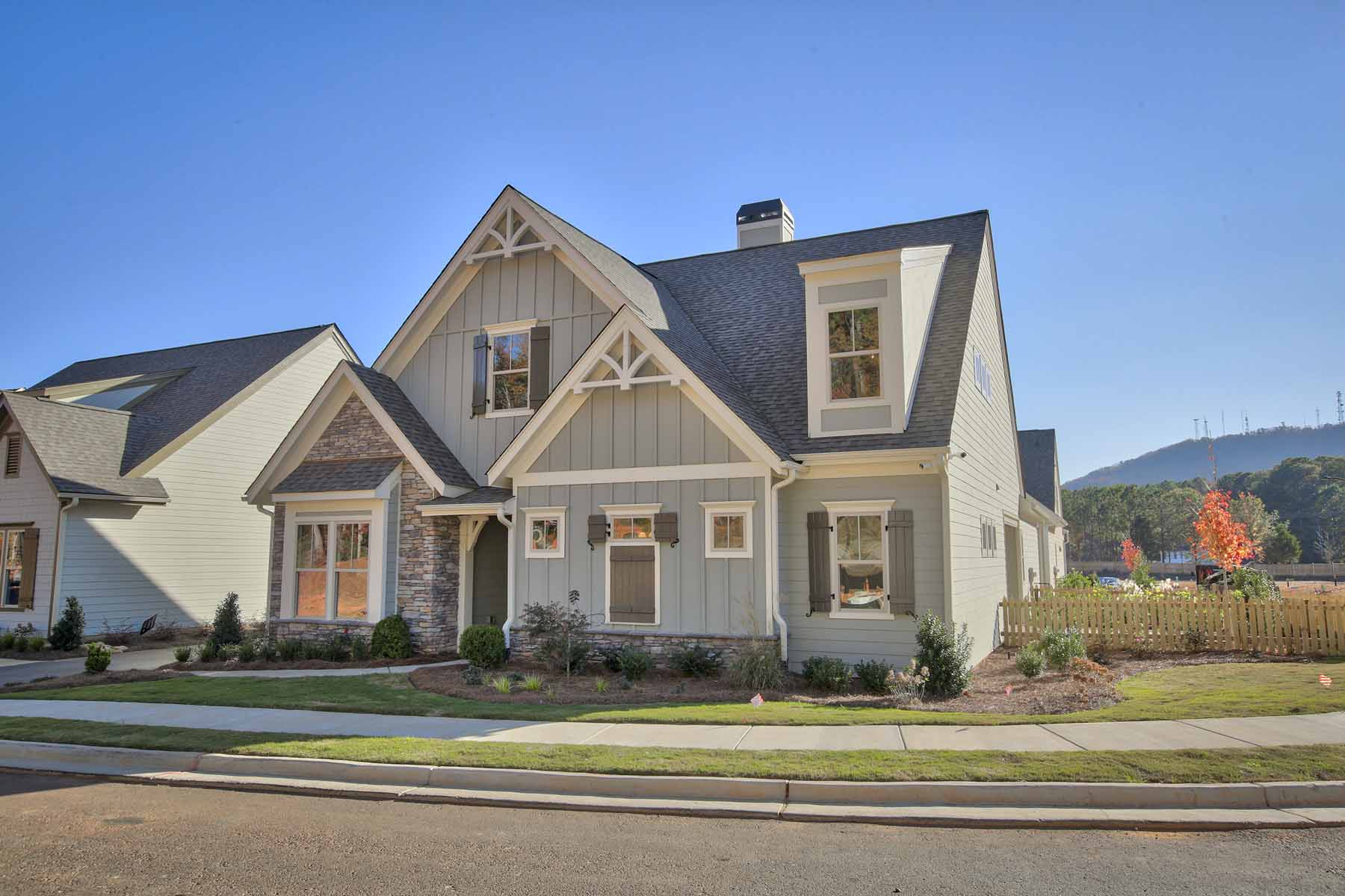 Casa Unifamiliar por un Venta en Luxury Maintenance Free Living 312 Little Pine Lane Woodstock, Georgia, 30188 Estados Unidos