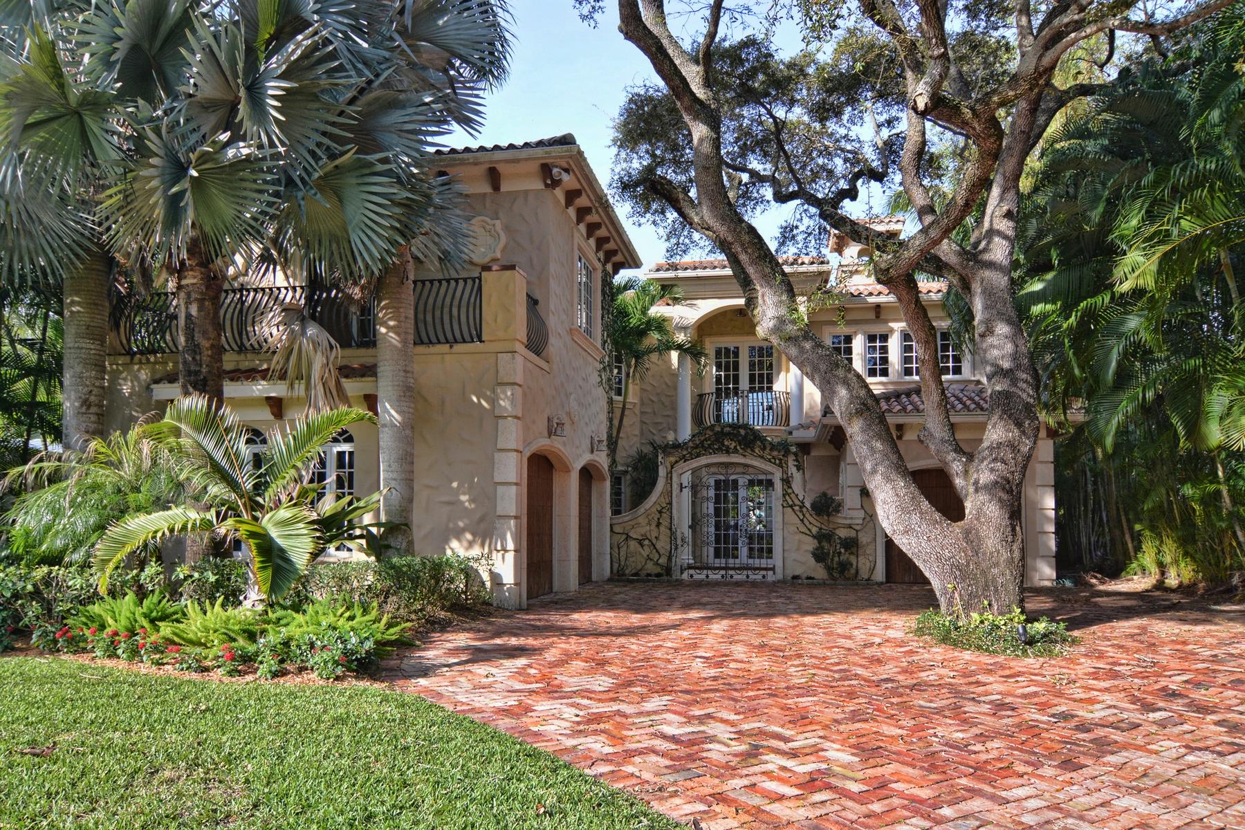 Maison unifamiliale pour l Vente à 13321 Rolling Green Rd North Palm Beach, Florida 33408 États-Unis